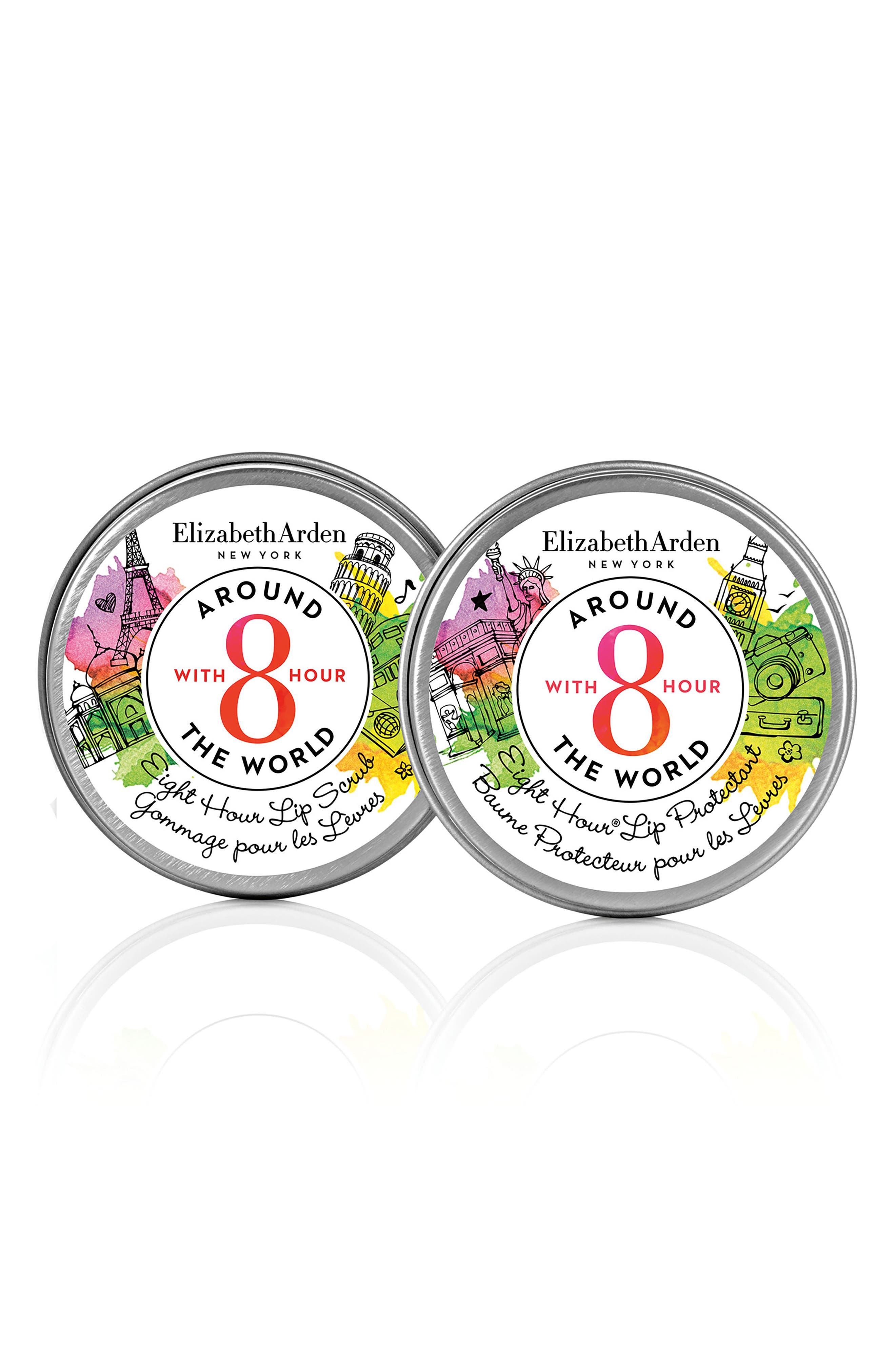 Elizabeth Arden Eight-Hour Lip Duo Protectant & Scrub (Limited Edition)