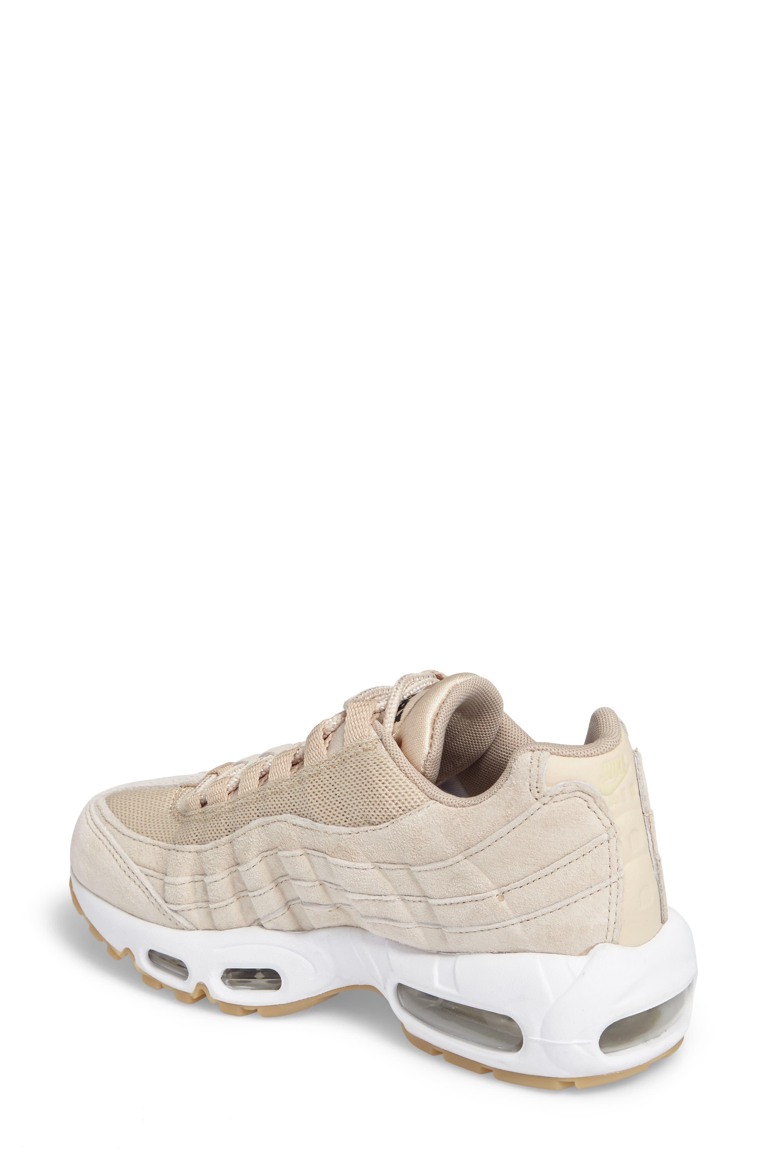 Air Max 95 SD Sneaker,                             Alternate thumbnail 2, color,                             Oatmeal/ White