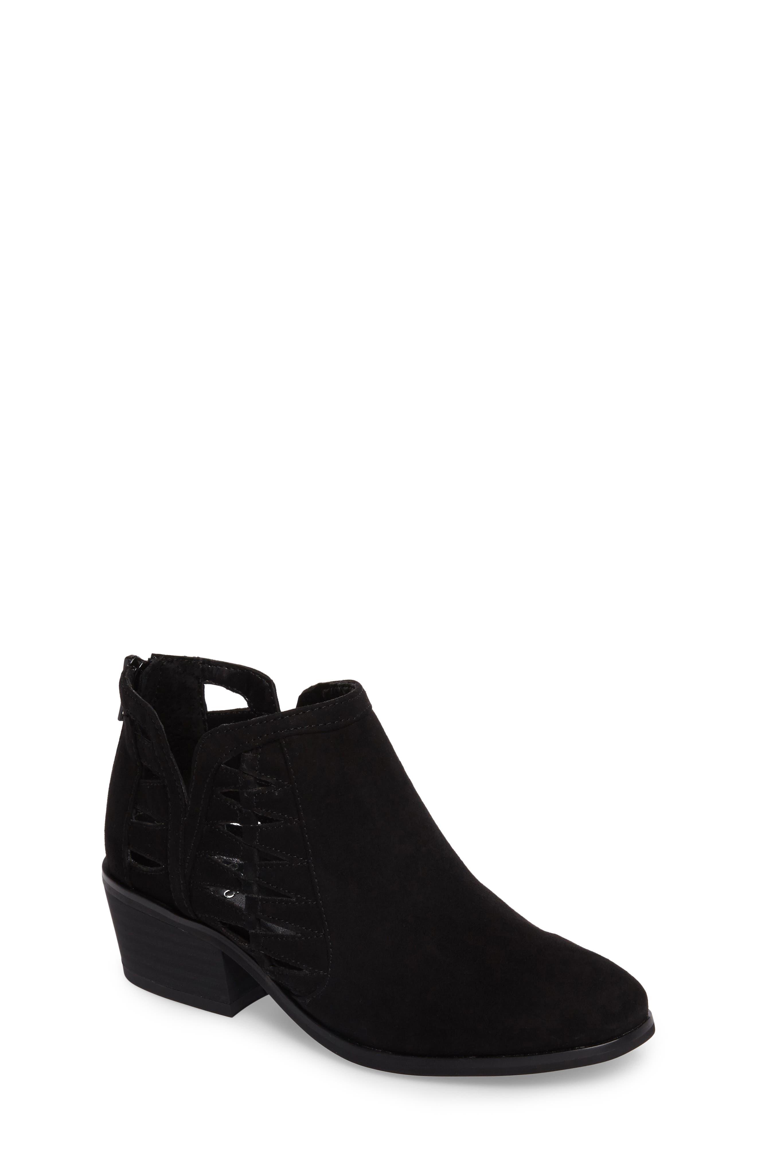 Toddler size 5 black dress shoes heels