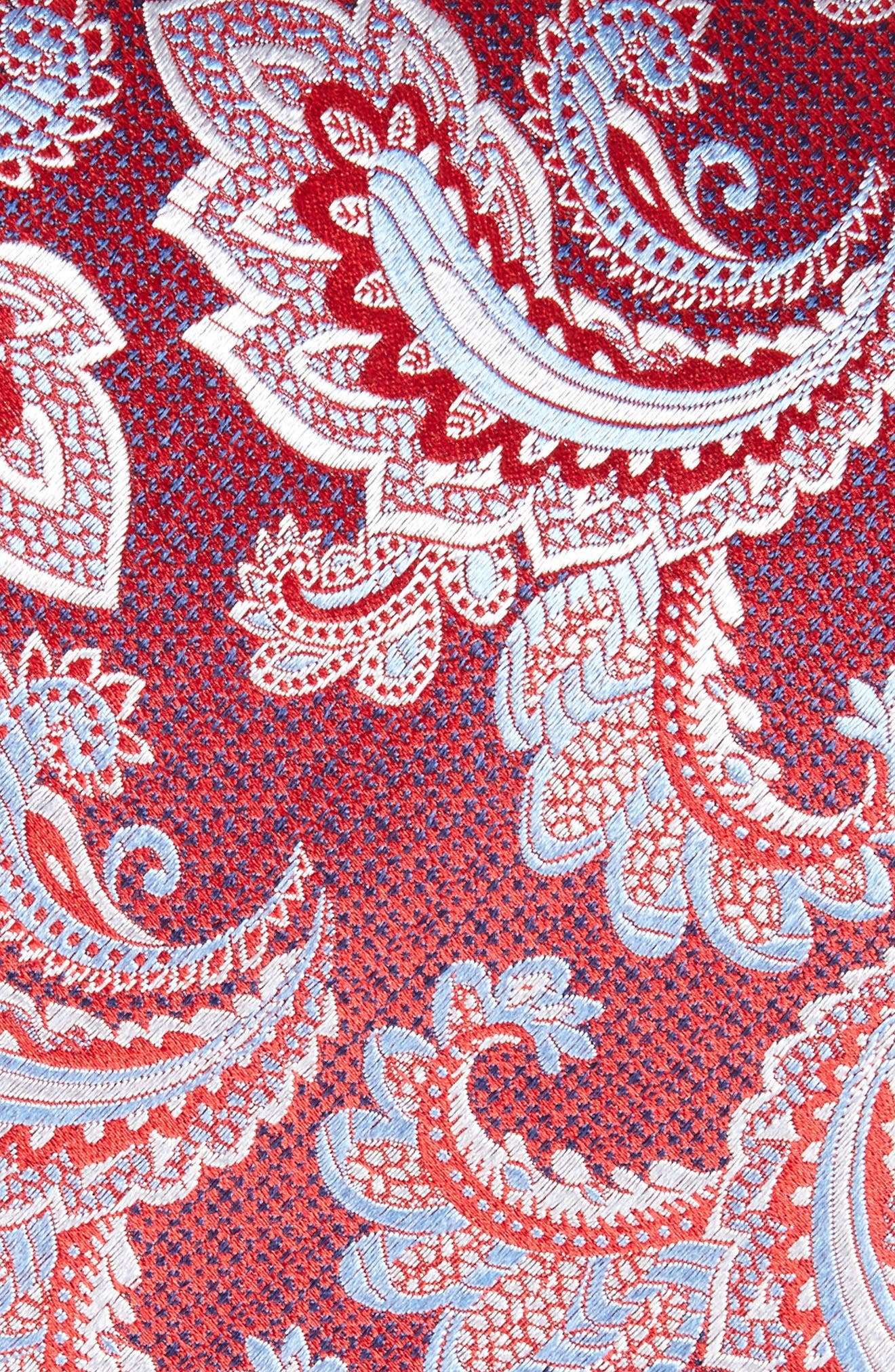 Alternate Image 2  - Eton Paisley Silk Tie