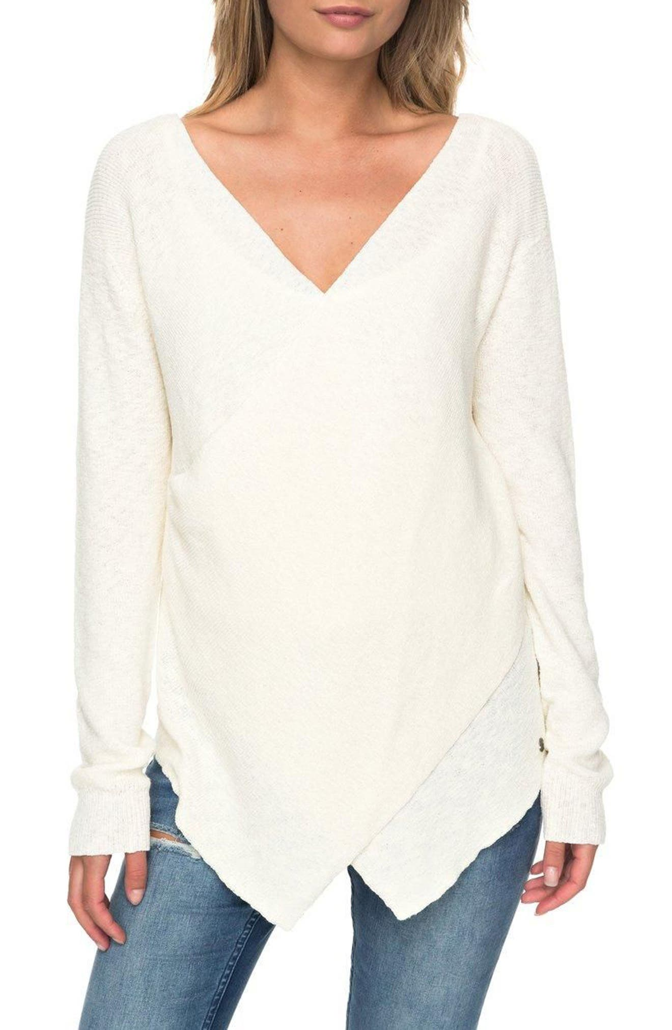 Main Image - Roxy Love at First Light Sweater