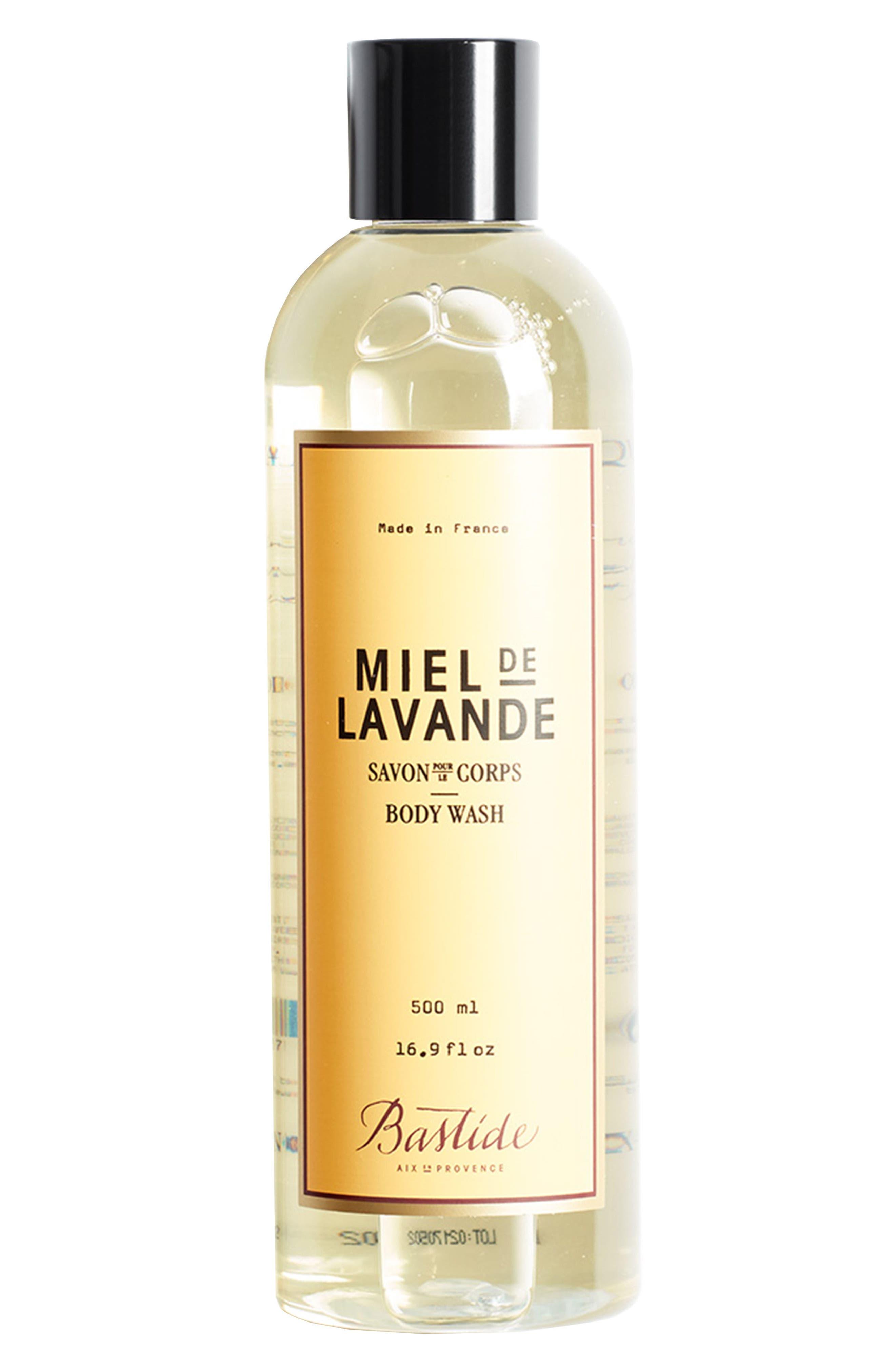 Natural Body Wash,                         Main,                         color, Miel De Lavande