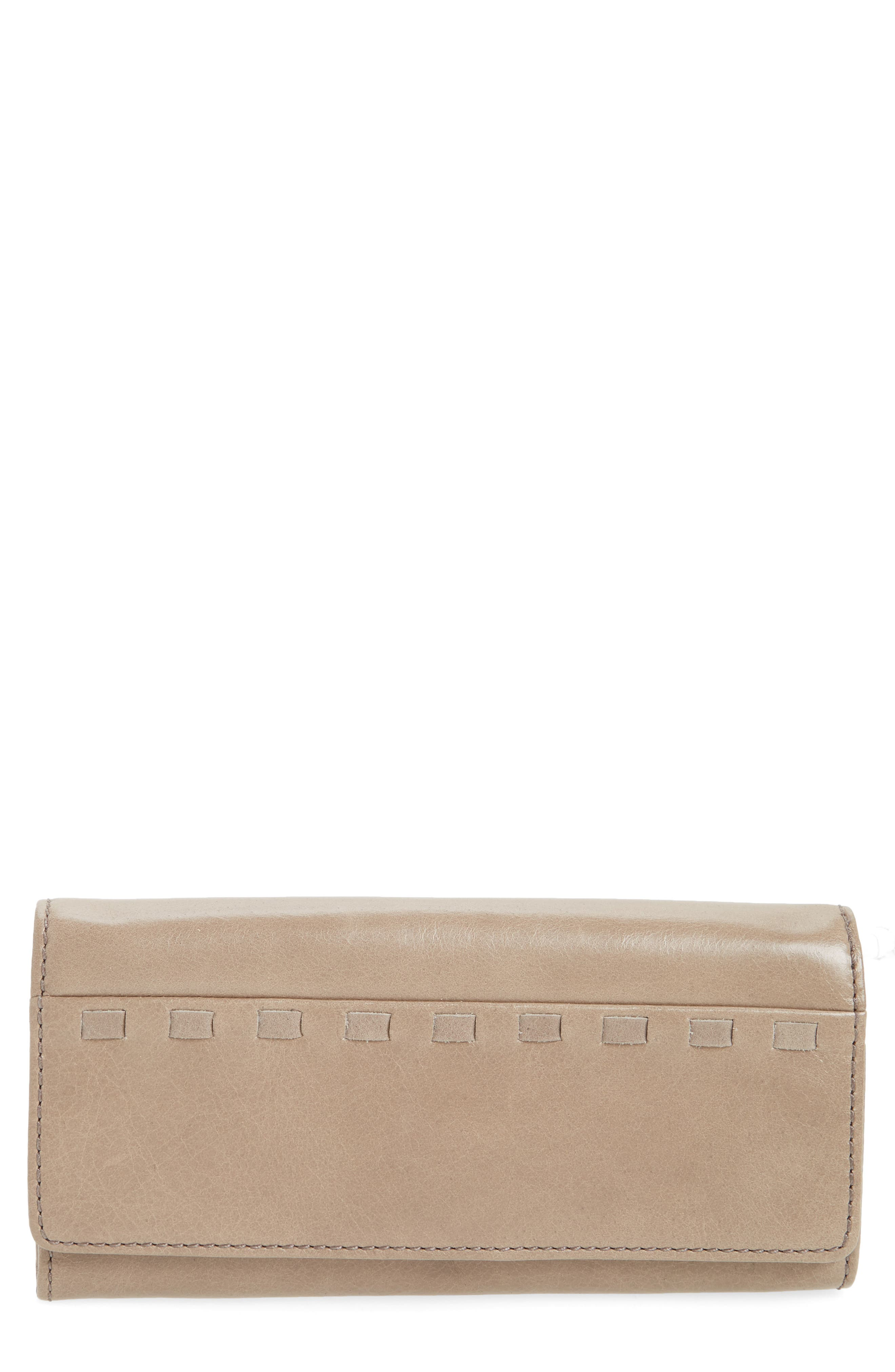 Rider Leather Wallet,                         Main,                         color, Ash