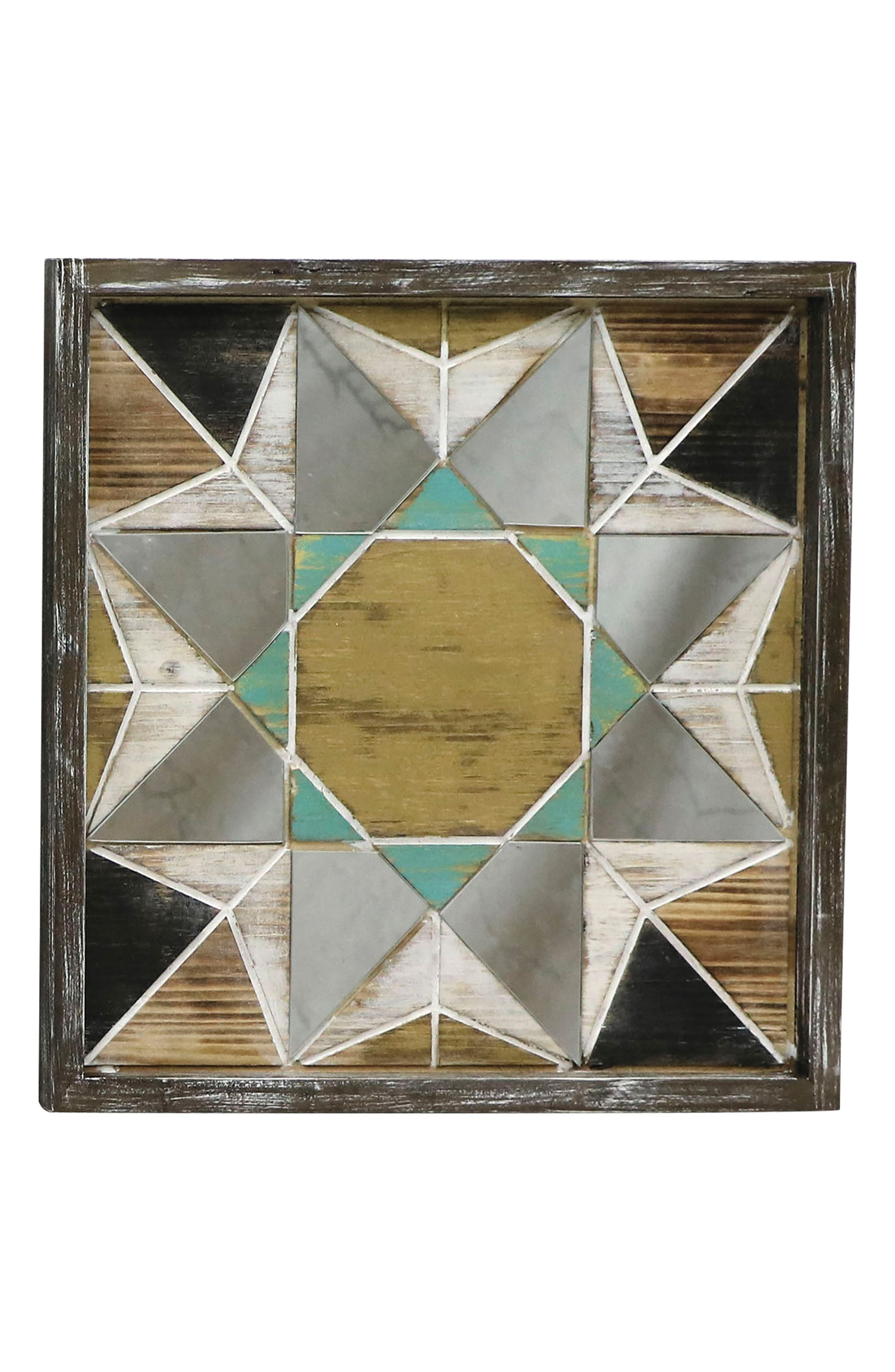 Alternate Image 1 Selected - Foreside Sunburst Mosaic Wall Art