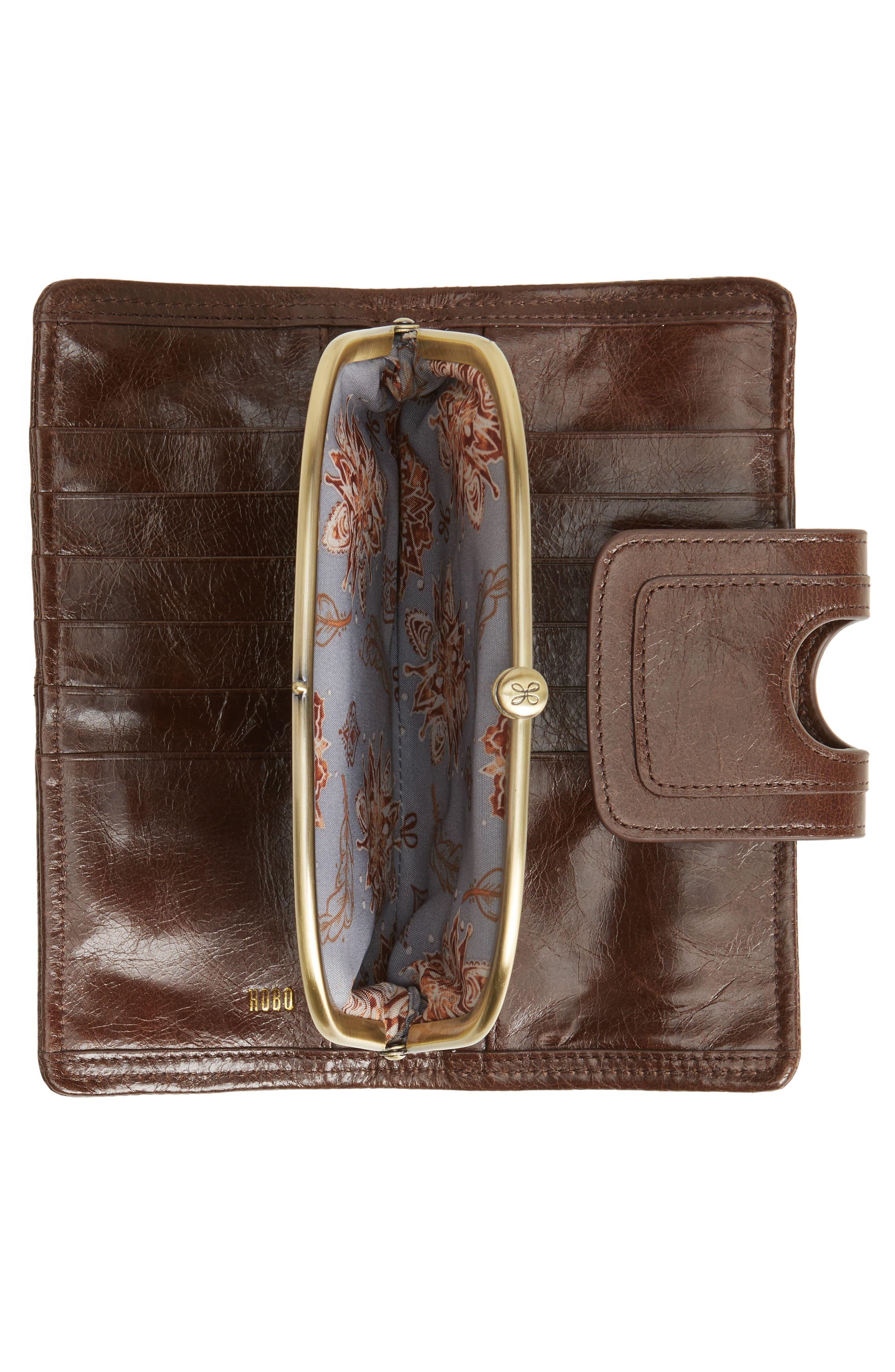 Alternate Image 2  - Hobo Nova Calfskin Leather Wallet