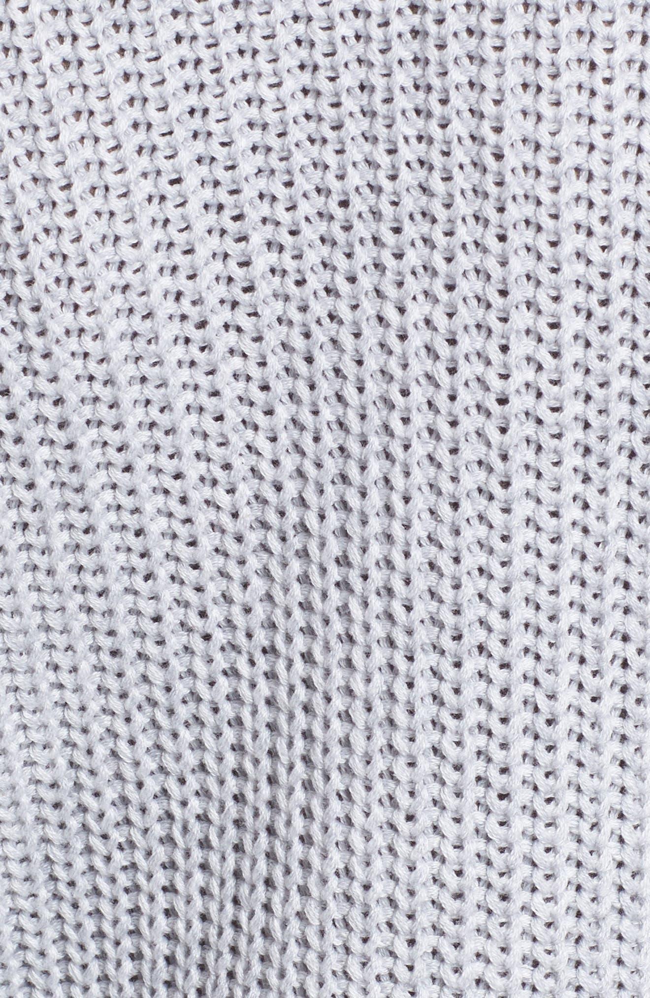 Alternate Image 5  - BLANKNYC Ruffle Yoke Sweater