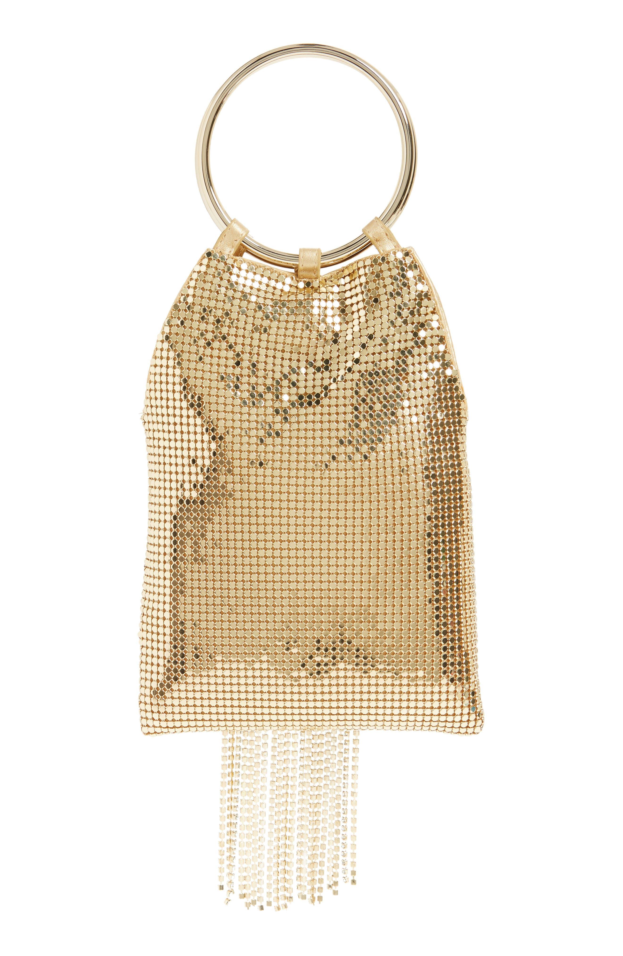 Alternate Image 3  - Whiting & Davis Cascade Crystal Fringe Mesh Bracelet Bag
