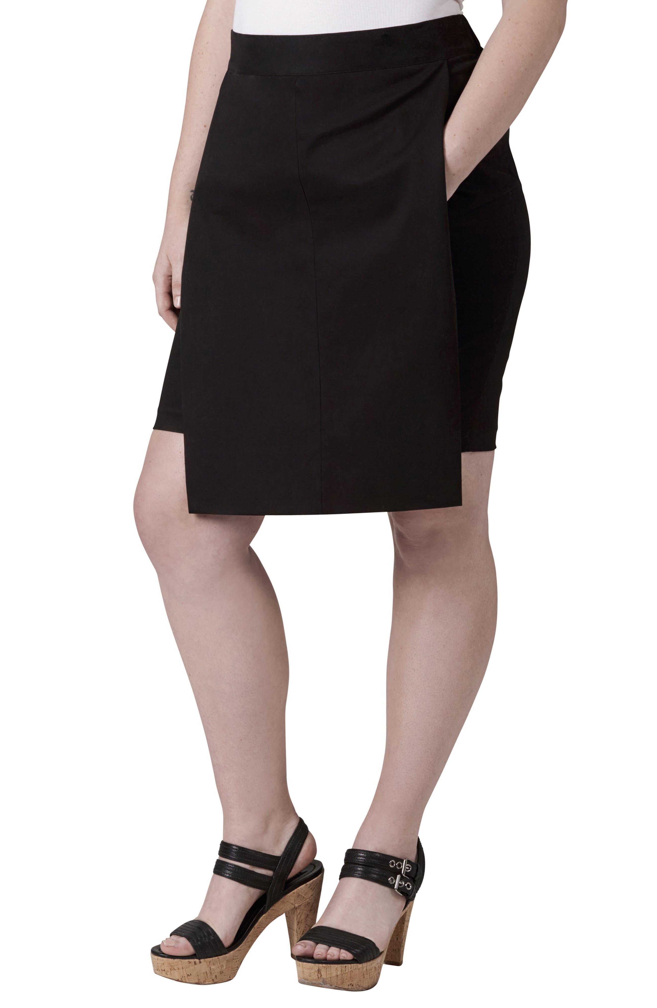 Alternate Image 1 Selected - UNIVERSAL STANDARD Ahr Skirt (Plus Size)