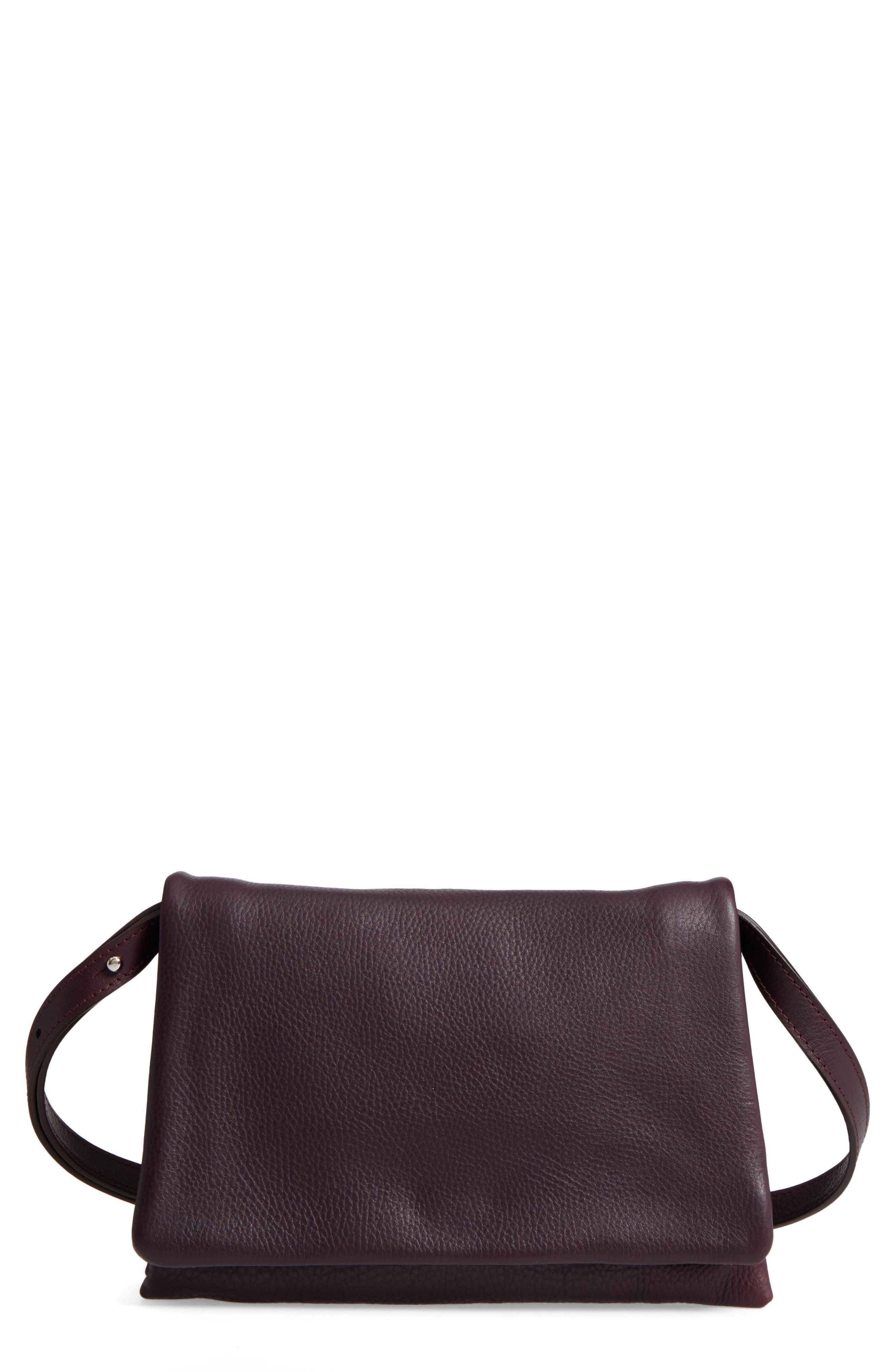 Shinola Leather Convertible Shoulder Bag
