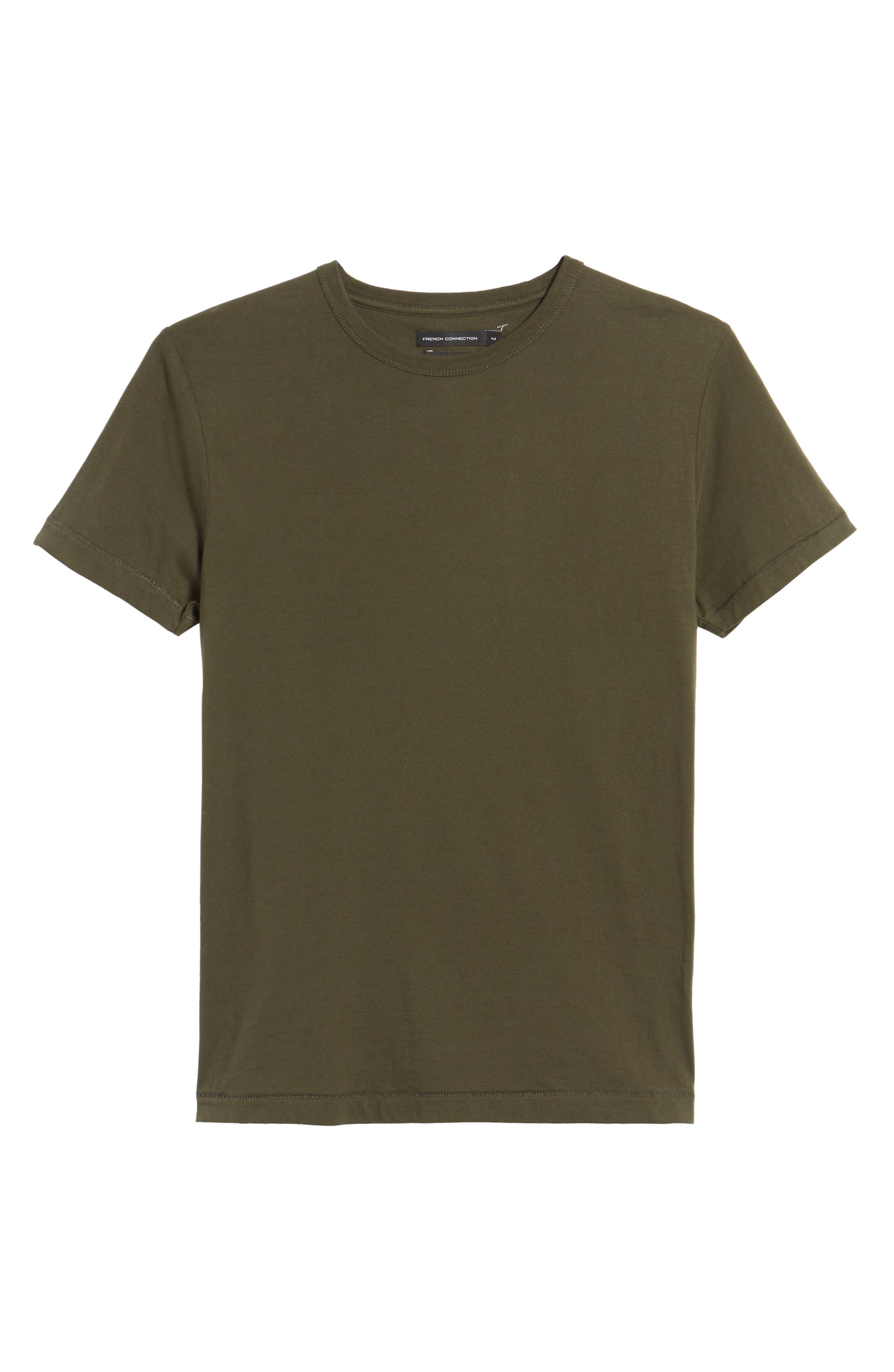 Alternate Image 6  - French Connection Slim Fit Crewneck T-Shirt