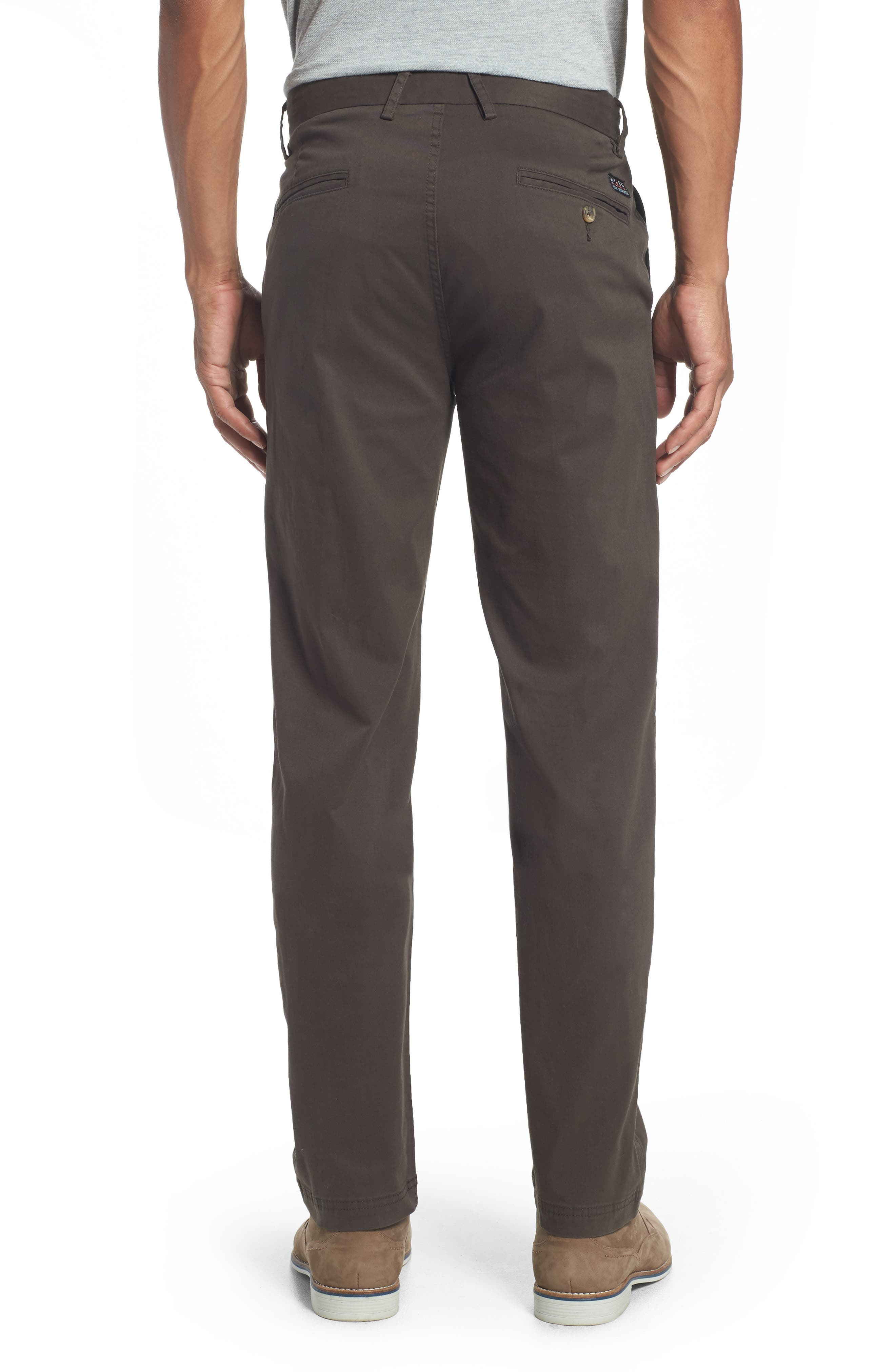 Alternate Image 2  - Ben Sherman Slim Fit Stretch Chinos