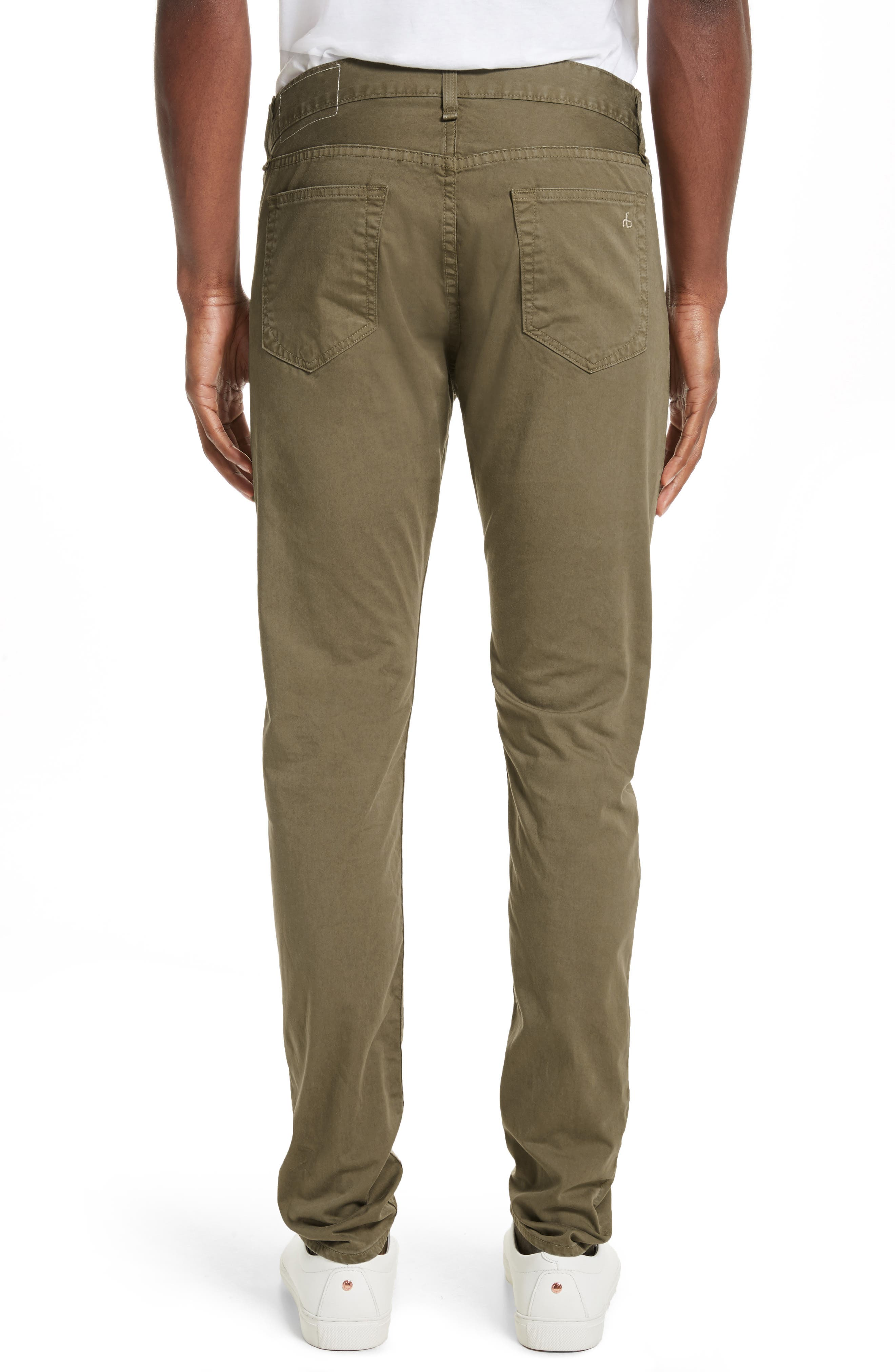 Alternate Image 2  - rag & bone Fit 1 Twill Skinny Fit Pants