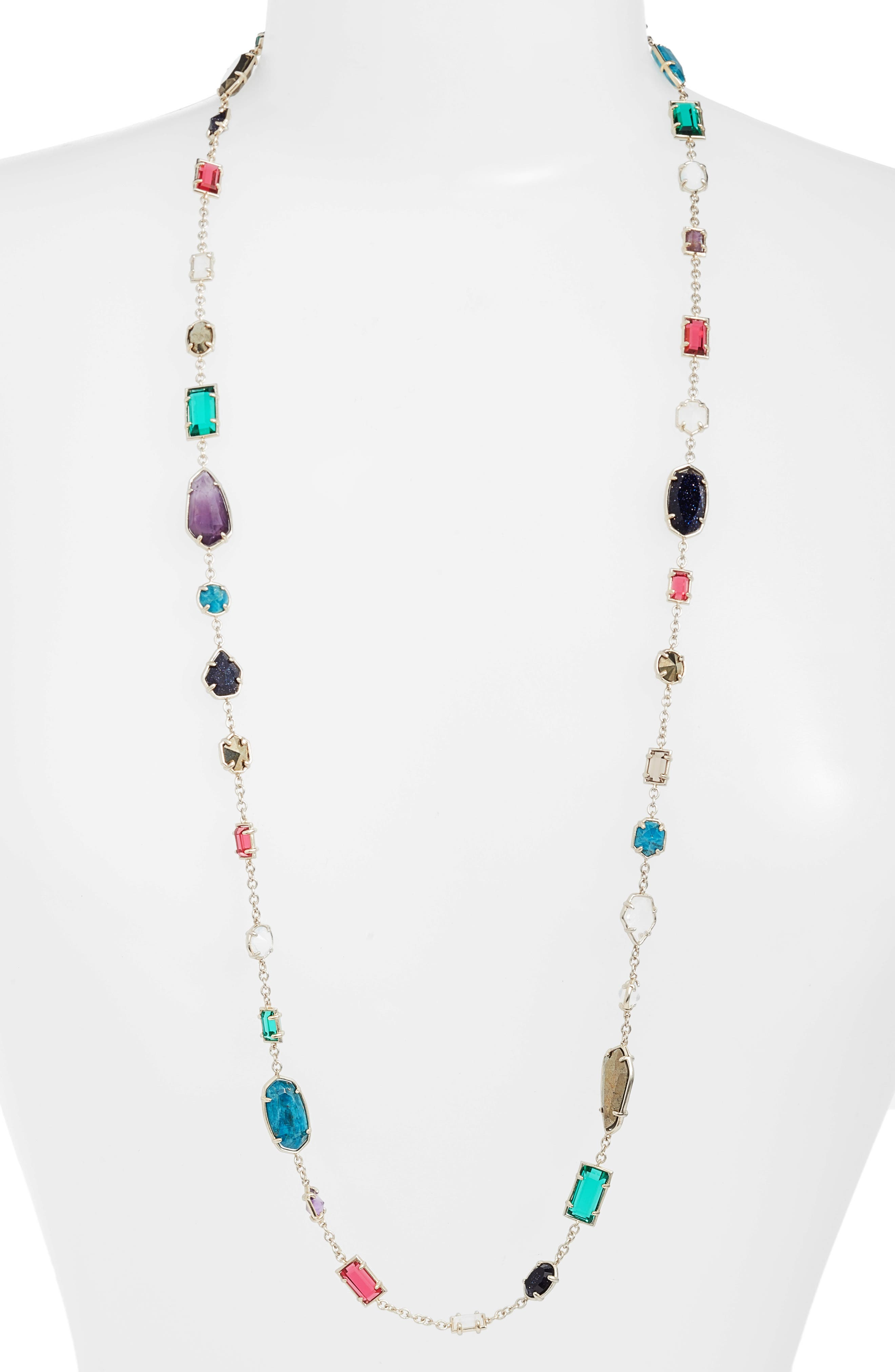Alternate Image 1 Selected - Kendra Scott Joann Long Station Necklace