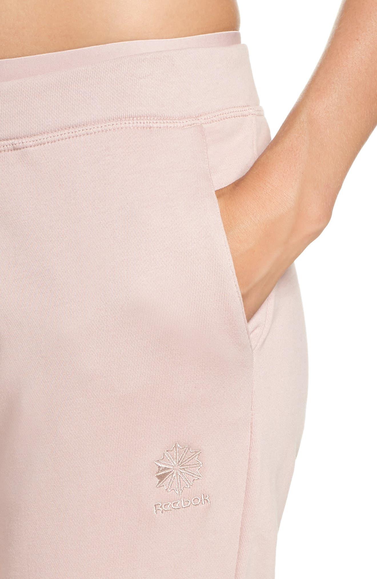 Sweatpants,                             Alternate thumbnail 4, color,                             Shell Pink