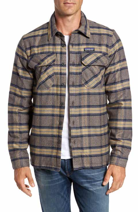 Men's Grey Shirt Jacket Coats & Men's Grey Shirt Jacket Jackets ...