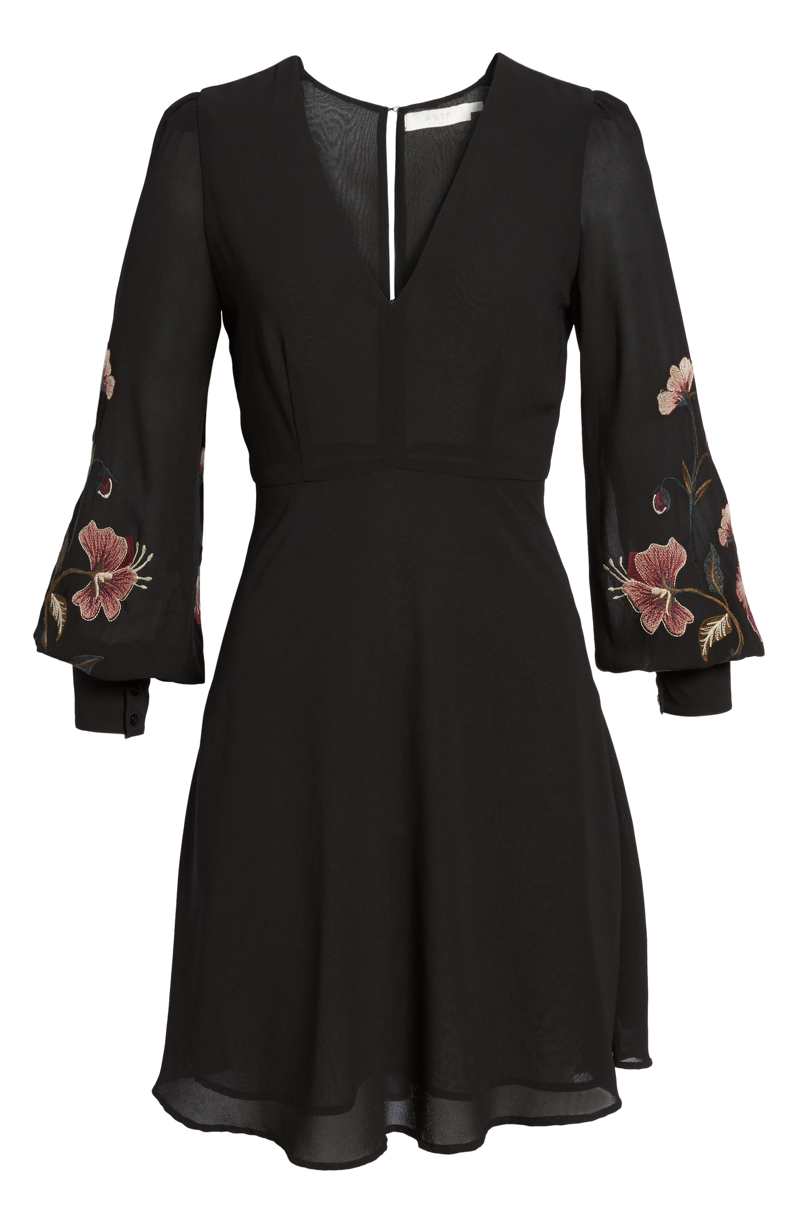 Alternate Image 8  - ASTR the Label Holly Fit & Flare Dress