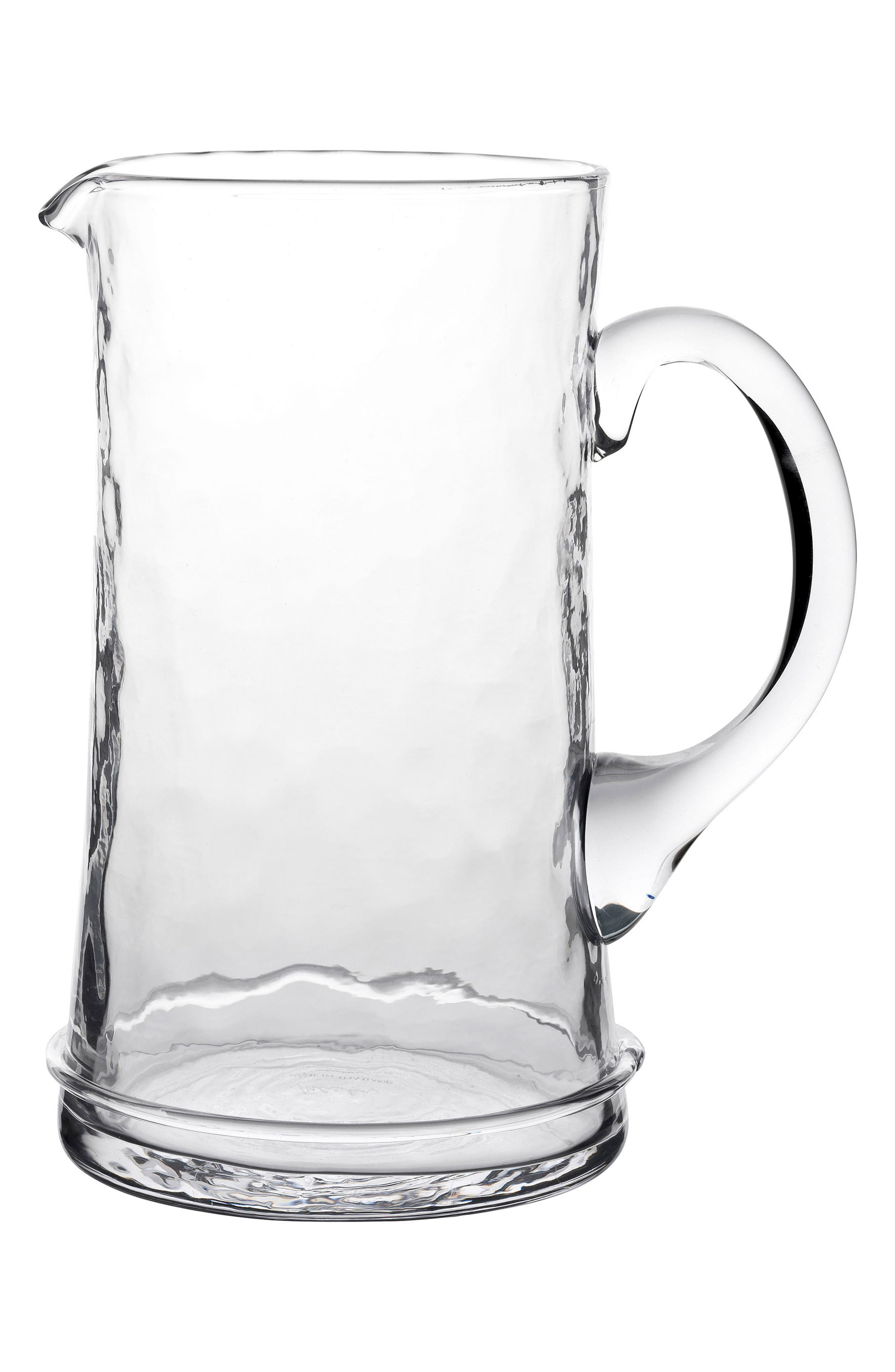'Carine' Glass Pitcher,                         Main,                         color, White