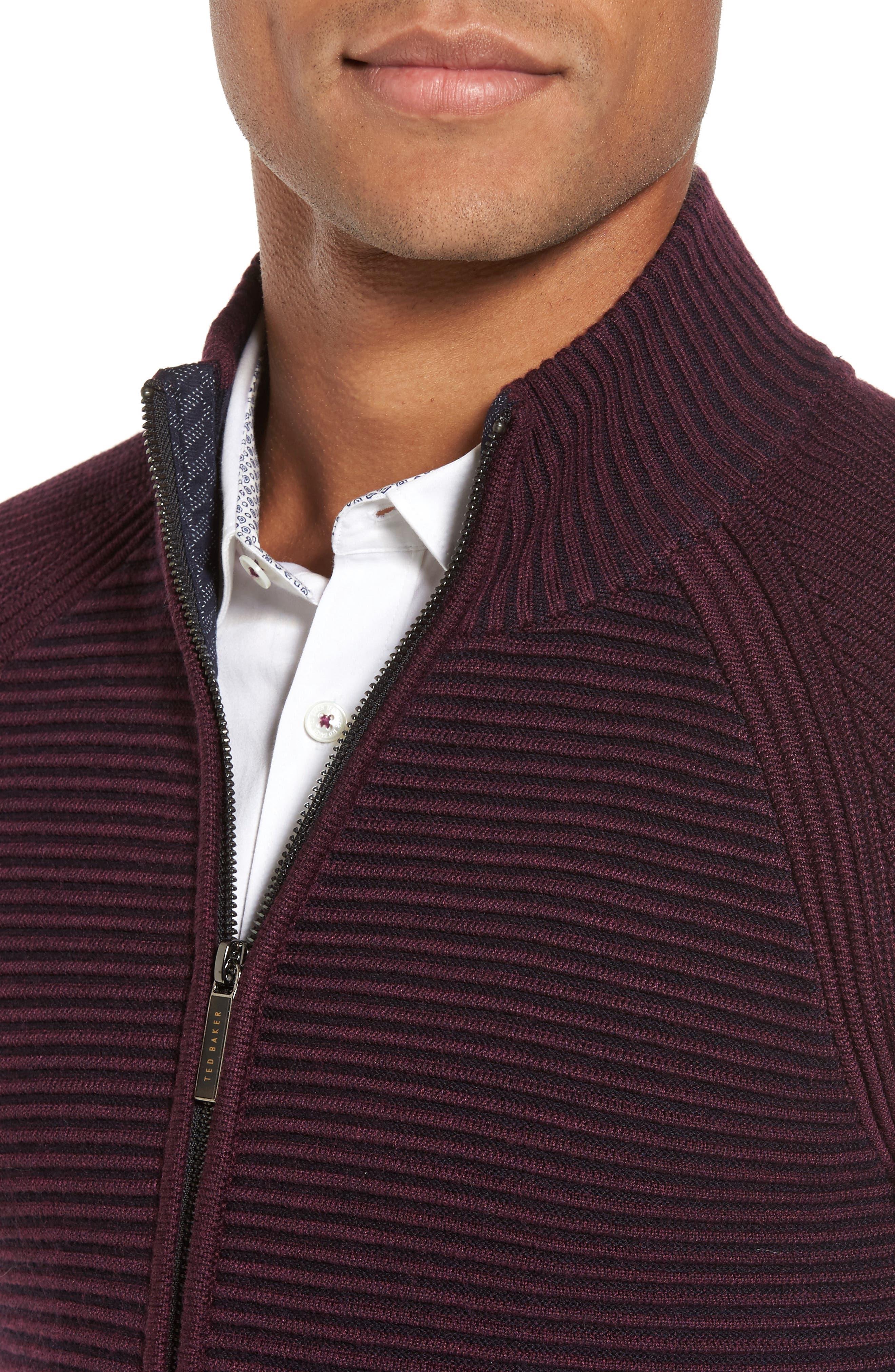 Alternate Image 4  - Ted Baker London Modern Slim Fit Raglan Sweater