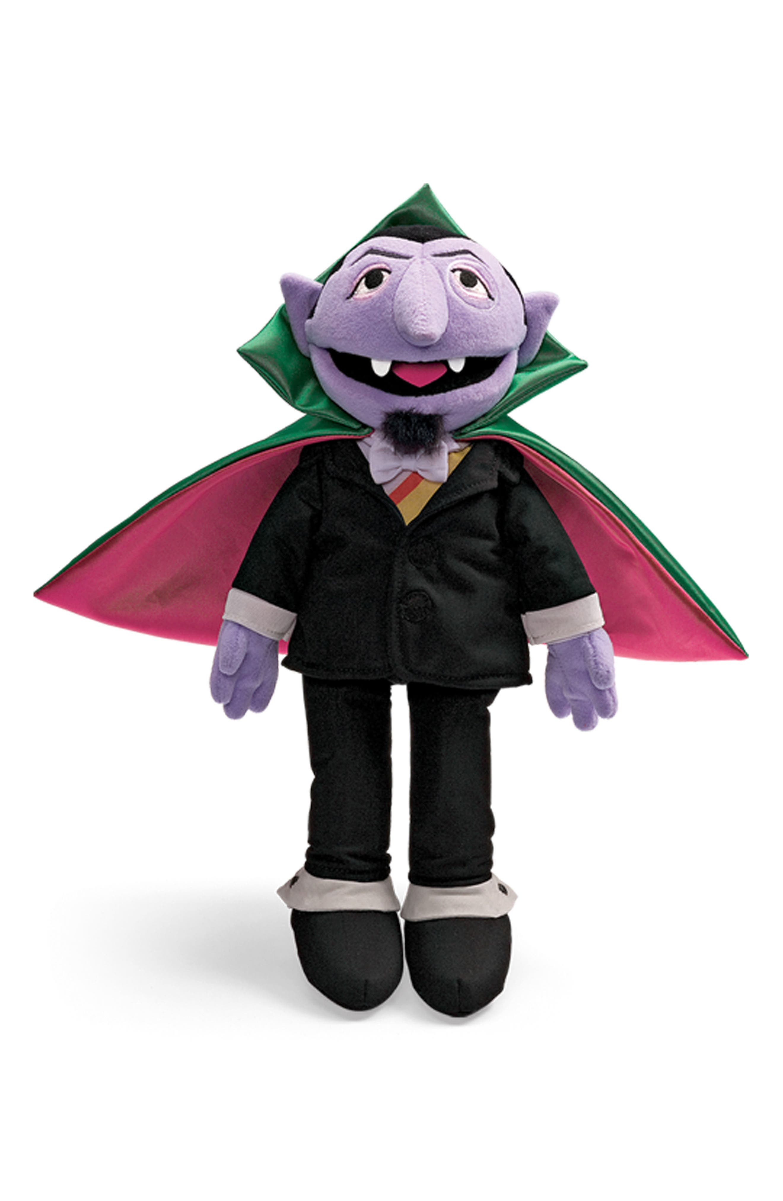 'The Count' Stuffed Toy,                         Main,                         color, Multi