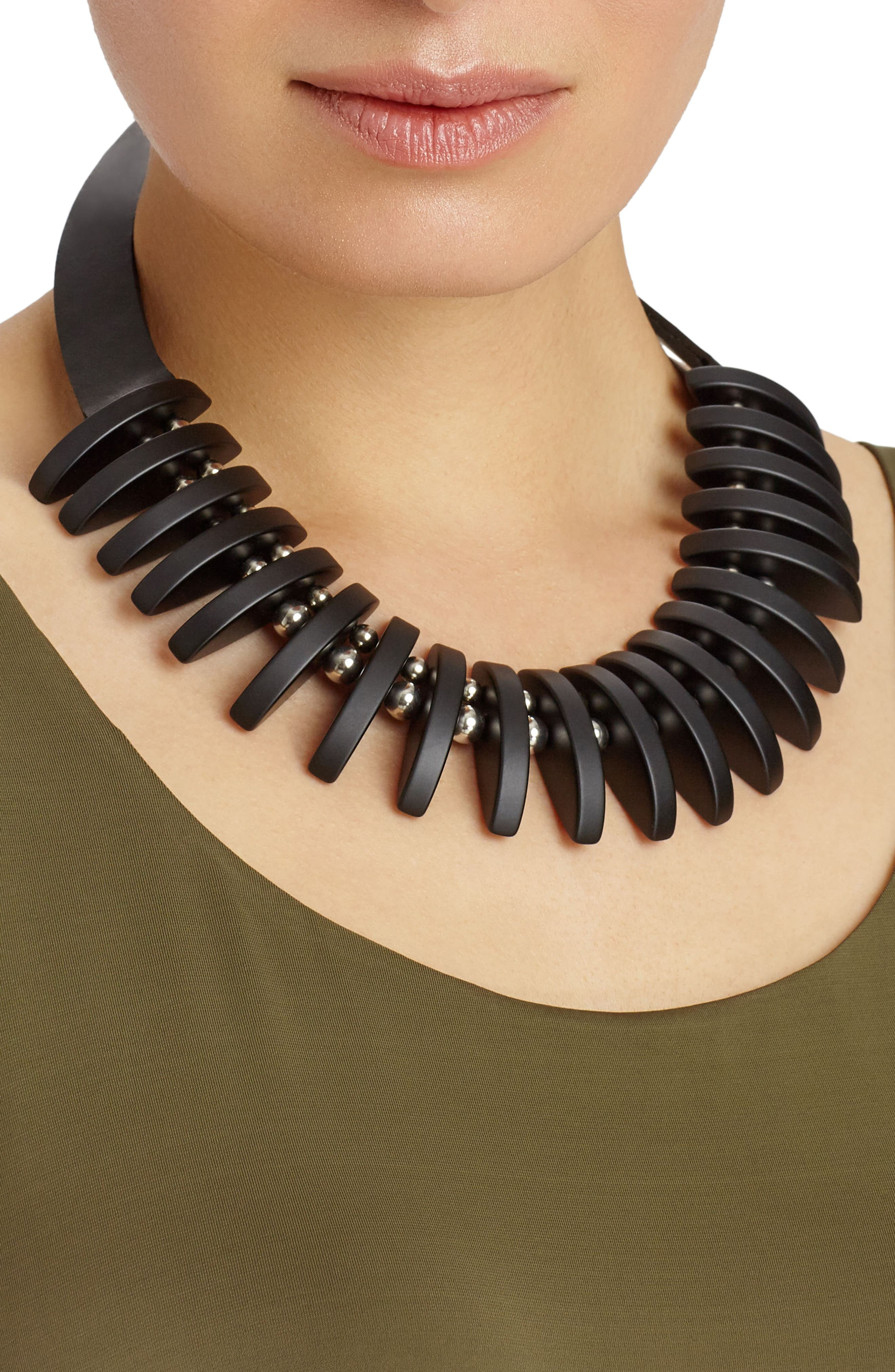 Alternate Image 2  - Lafayette 148 New York Luna Statement Necklace