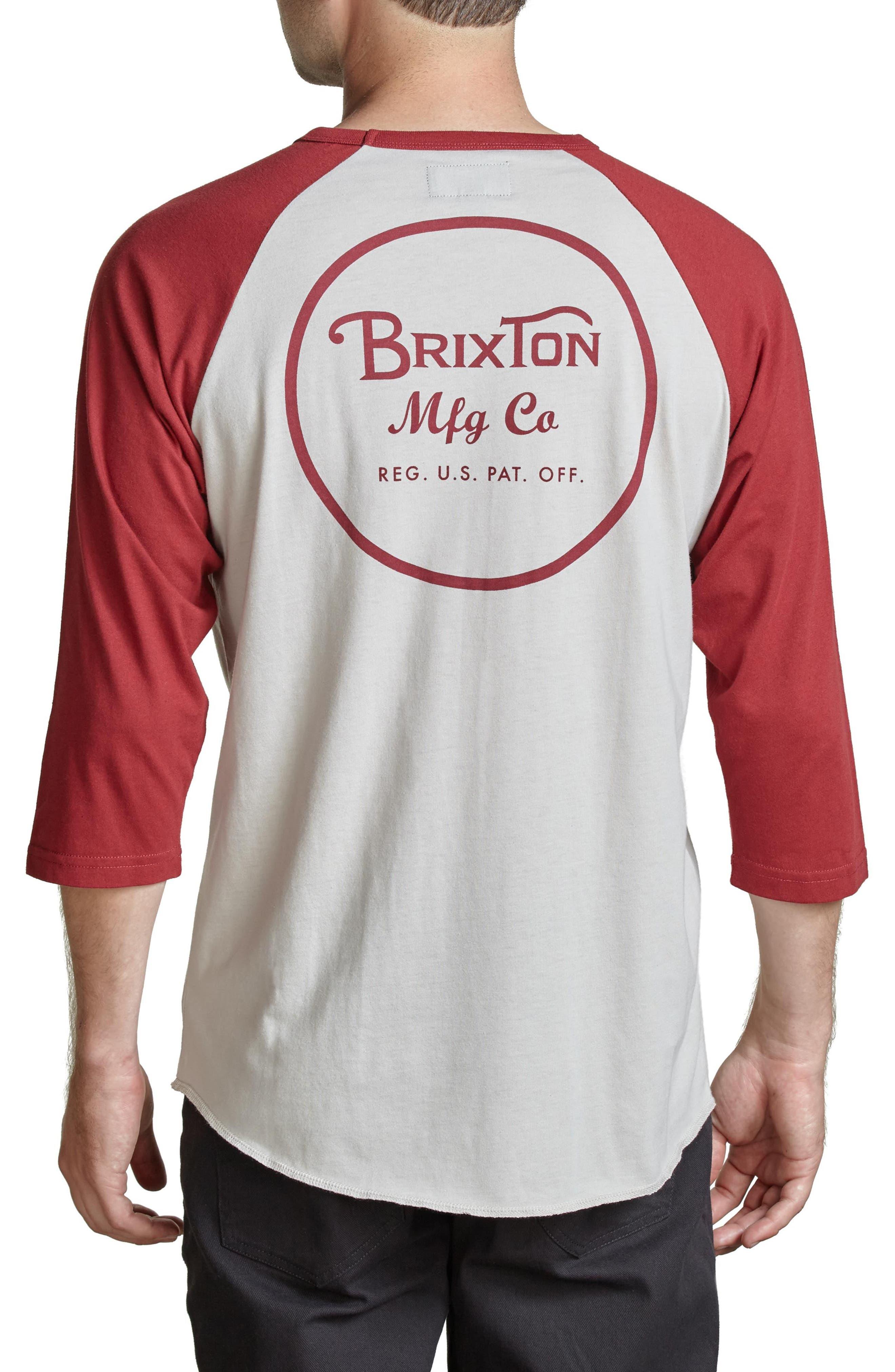 Alternate Image 2  - Brixton Wheeler Graphic Baseball T-Shirt