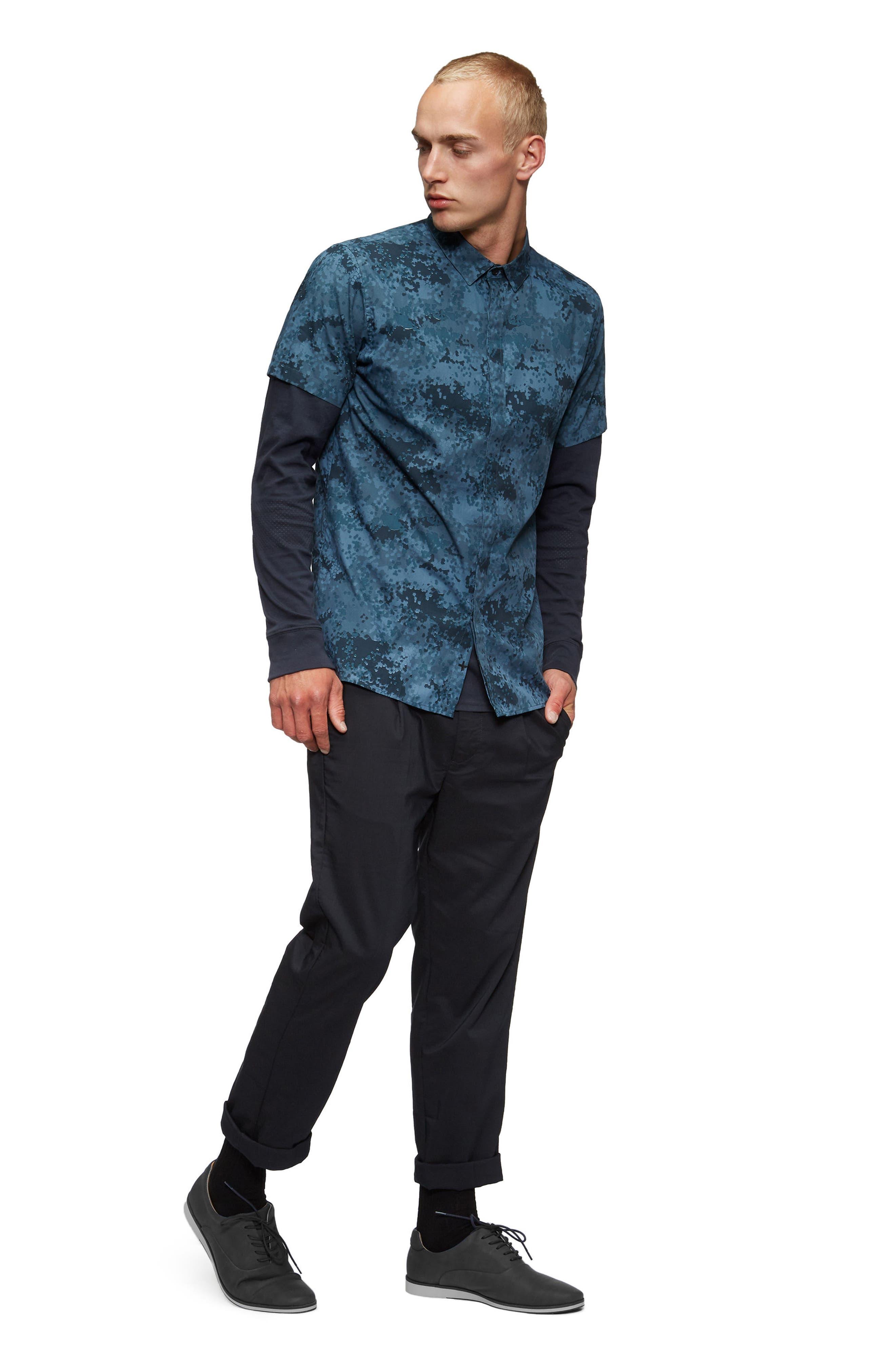 Alternate Image 4  - TAVIK Bexley Woven Shirt