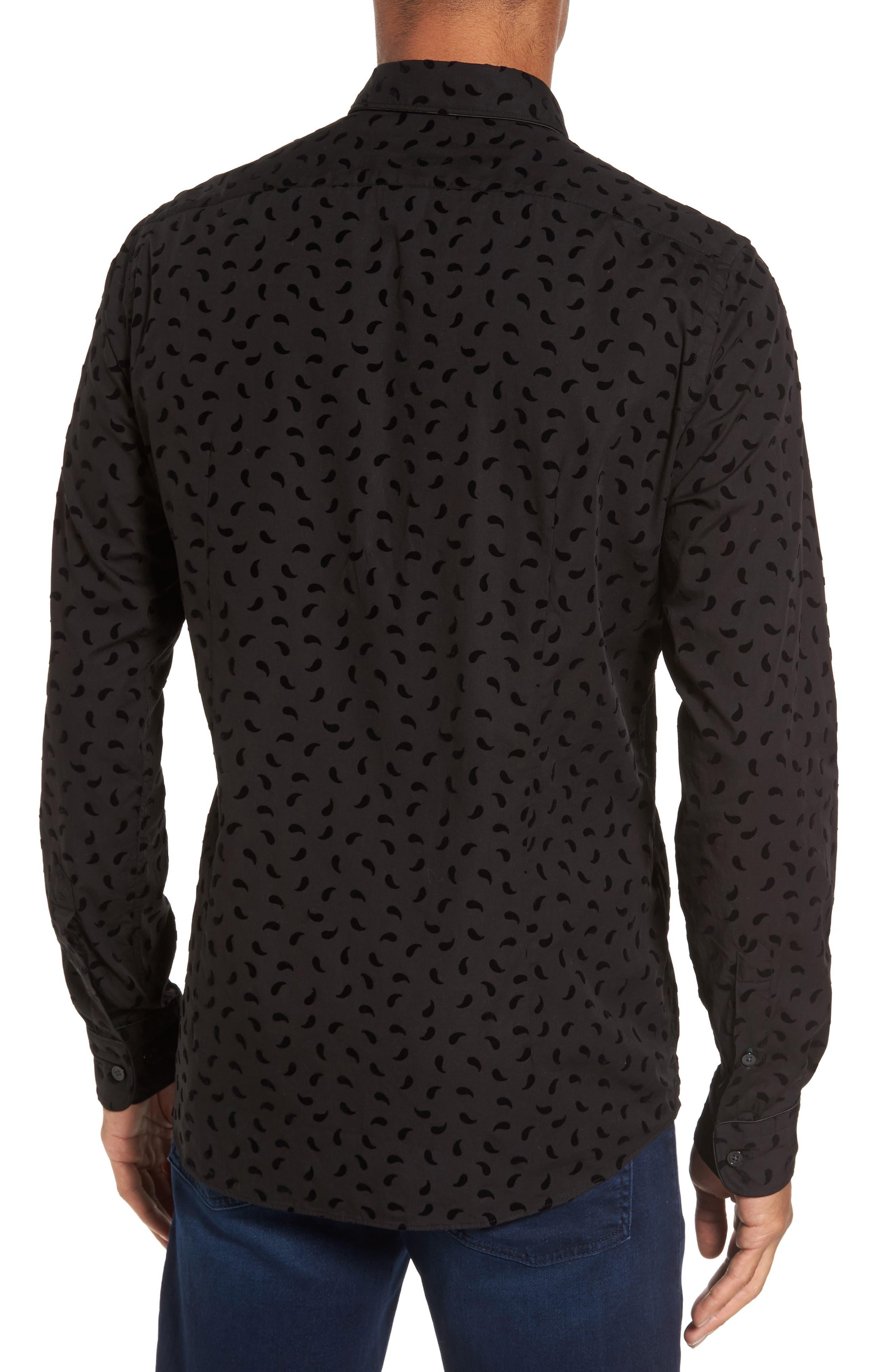 Alternate Image 2  - BOSS Leandro Paisley Sport Shirt