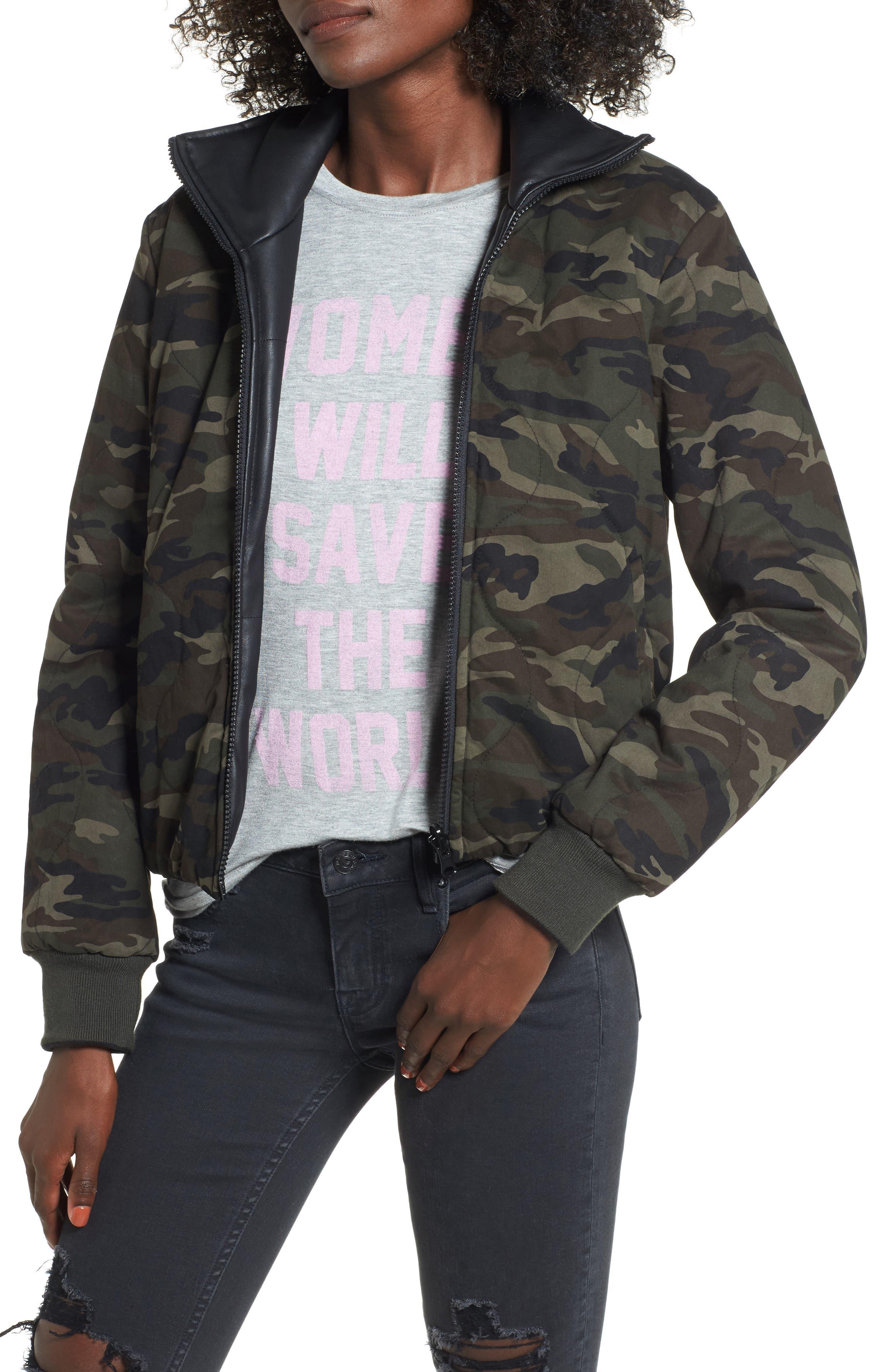 Reversible Camo Jacket,                         Main,                         color, Camo