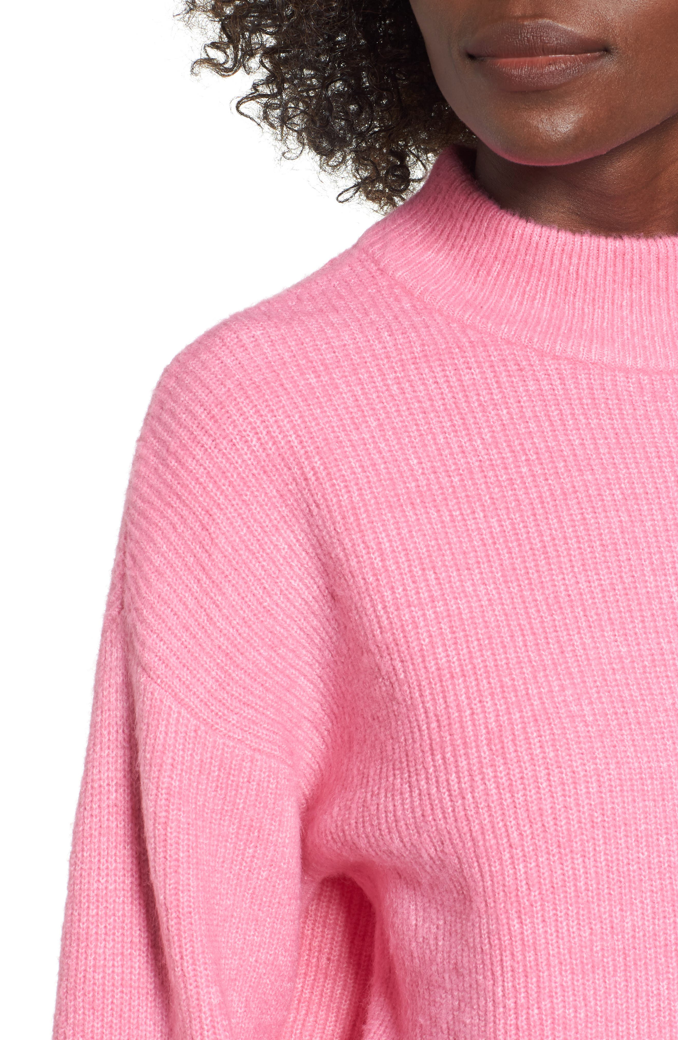 Alternate Image 4  - Leith Cozy Ribbed Pullover