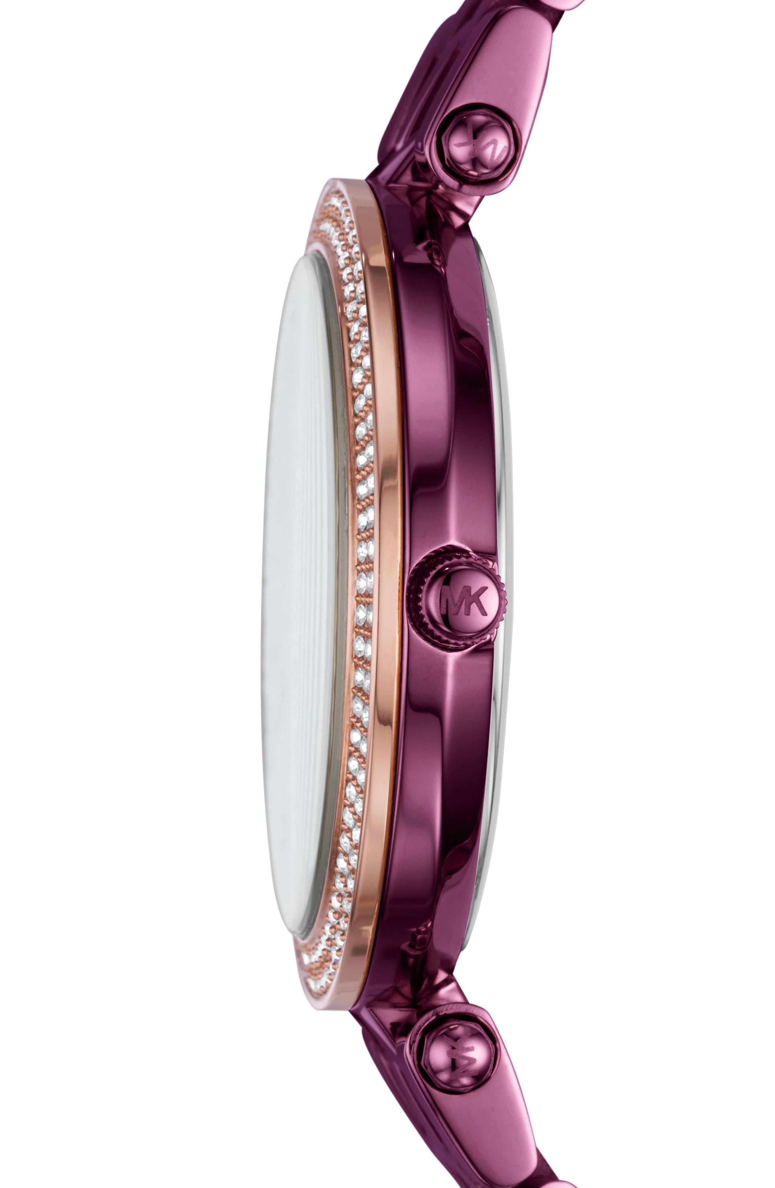 Alternate Image 2  - Michael Kors Mini Darci Bracelet Watch, 33mm