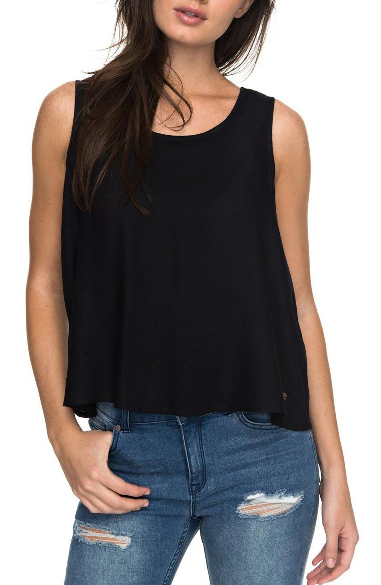 Moonstone Soul Mate Tank Top,                         Main,                         color, Anthracite