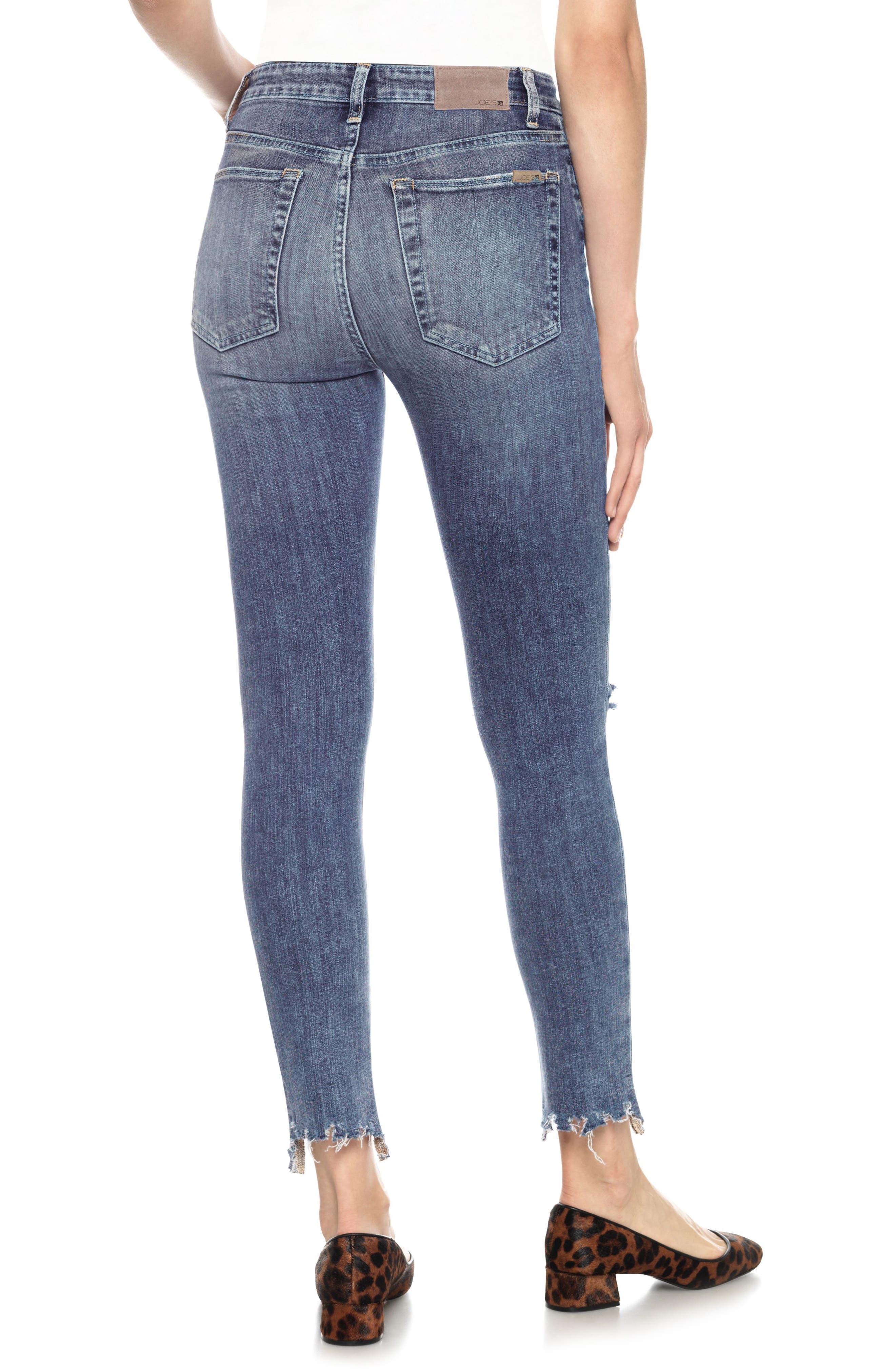 Alternate Image 3  - Joe's Charlie High Waist Ankle Skinny Jeans (Lonnie)
