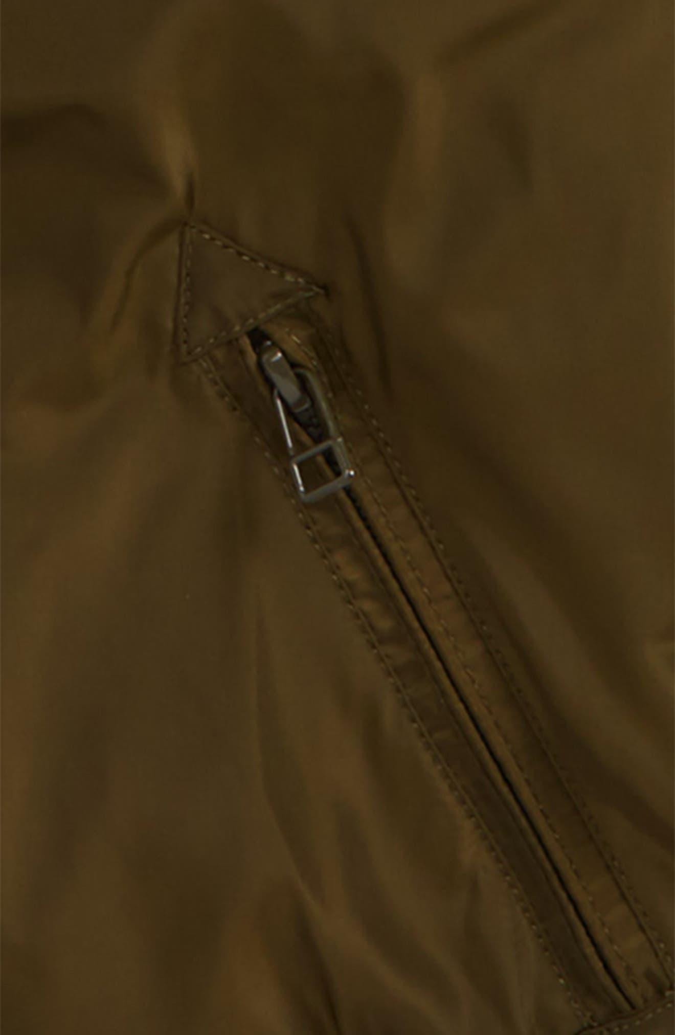 Hooded Bomber Jacket,                             Alternate thumbnail 2, color,                             Green Forest