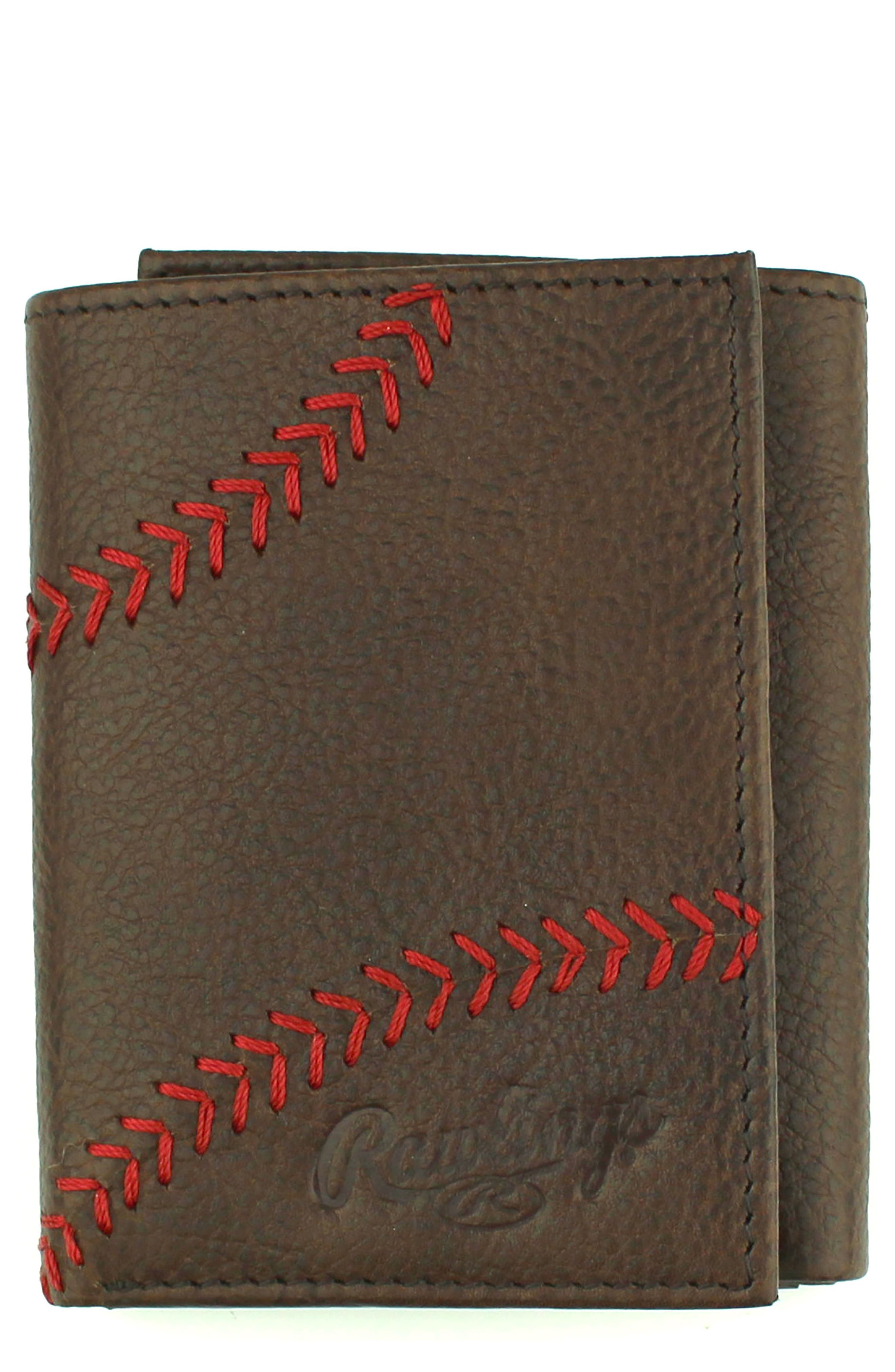 Home Run Trifold,                         Main,                         color, Brown