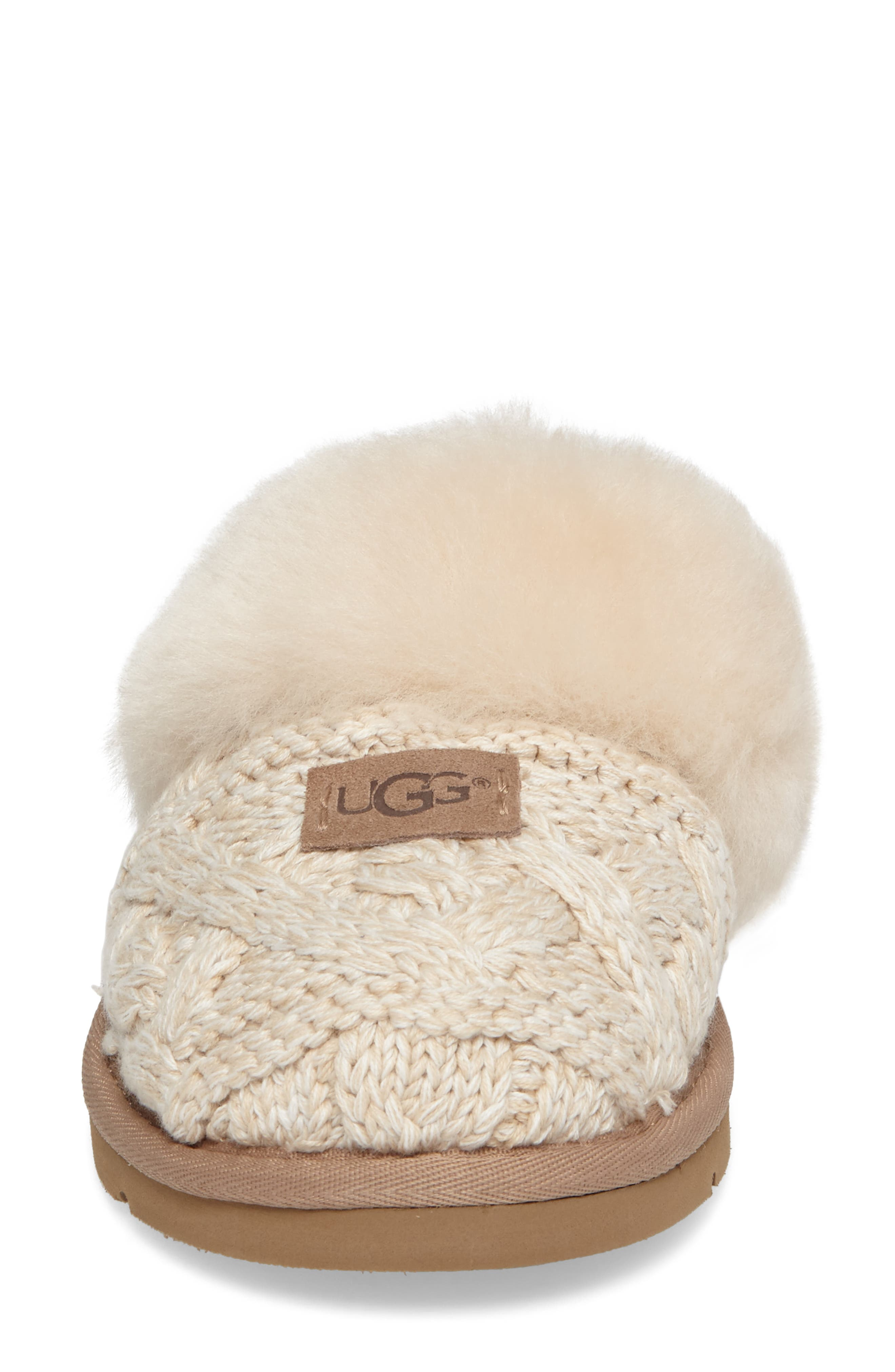 Alternate Image 4  - UGG® Cozy Cable Slipper (Women)