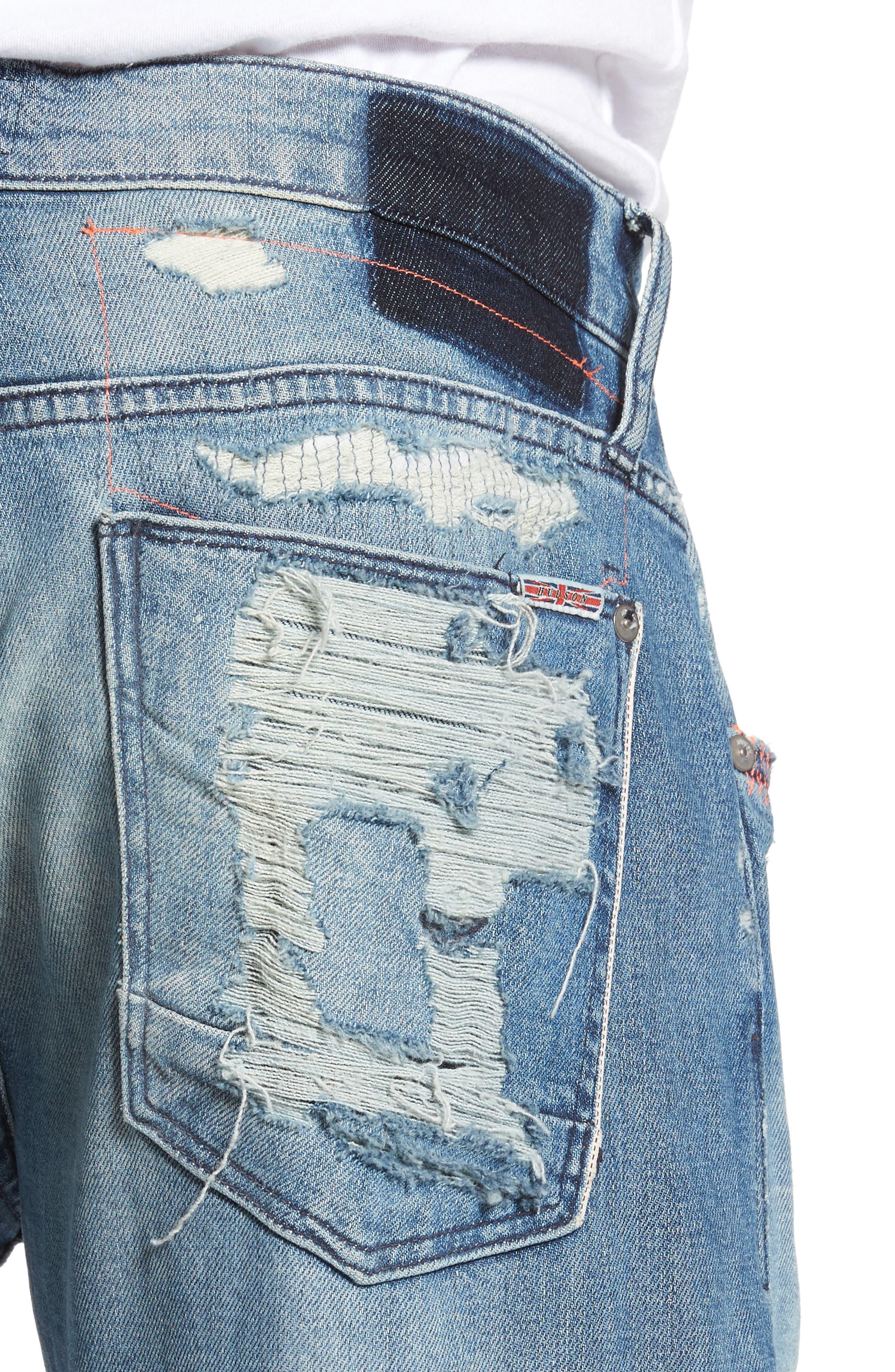 Blake Slim Fit Jeans,                             Alternate thumbnail 4, color,                             Public Enemy