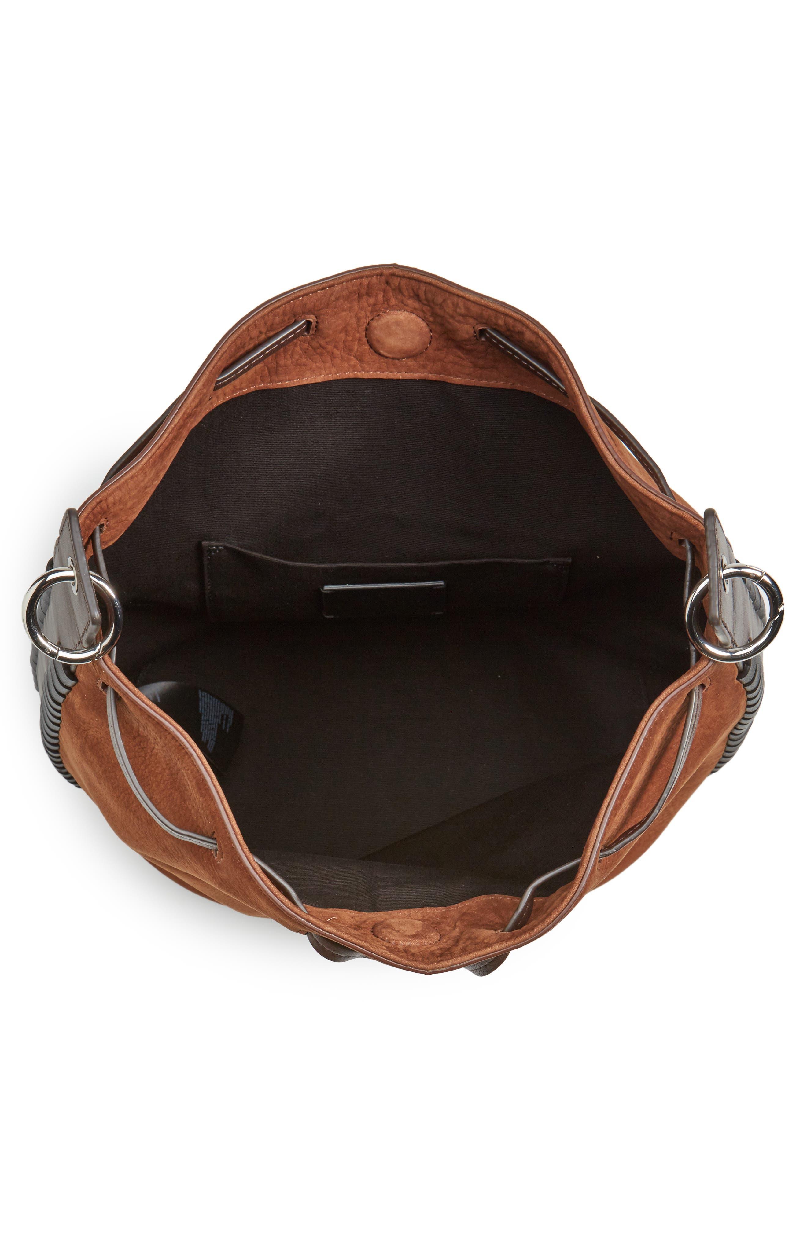 Alternate Image 4  - ALLSAINTS Ray Nubuck Leather Bucket Bag