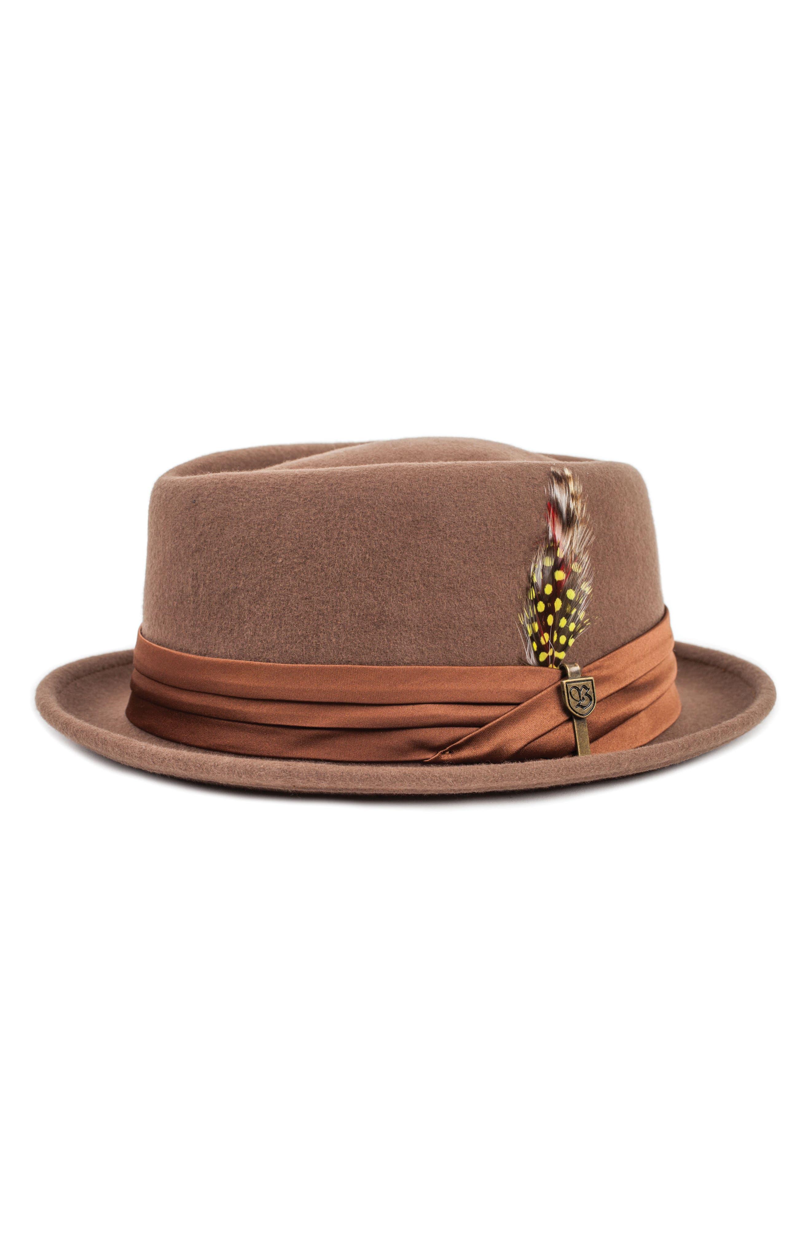 Brixton Stout Porkpie Hat