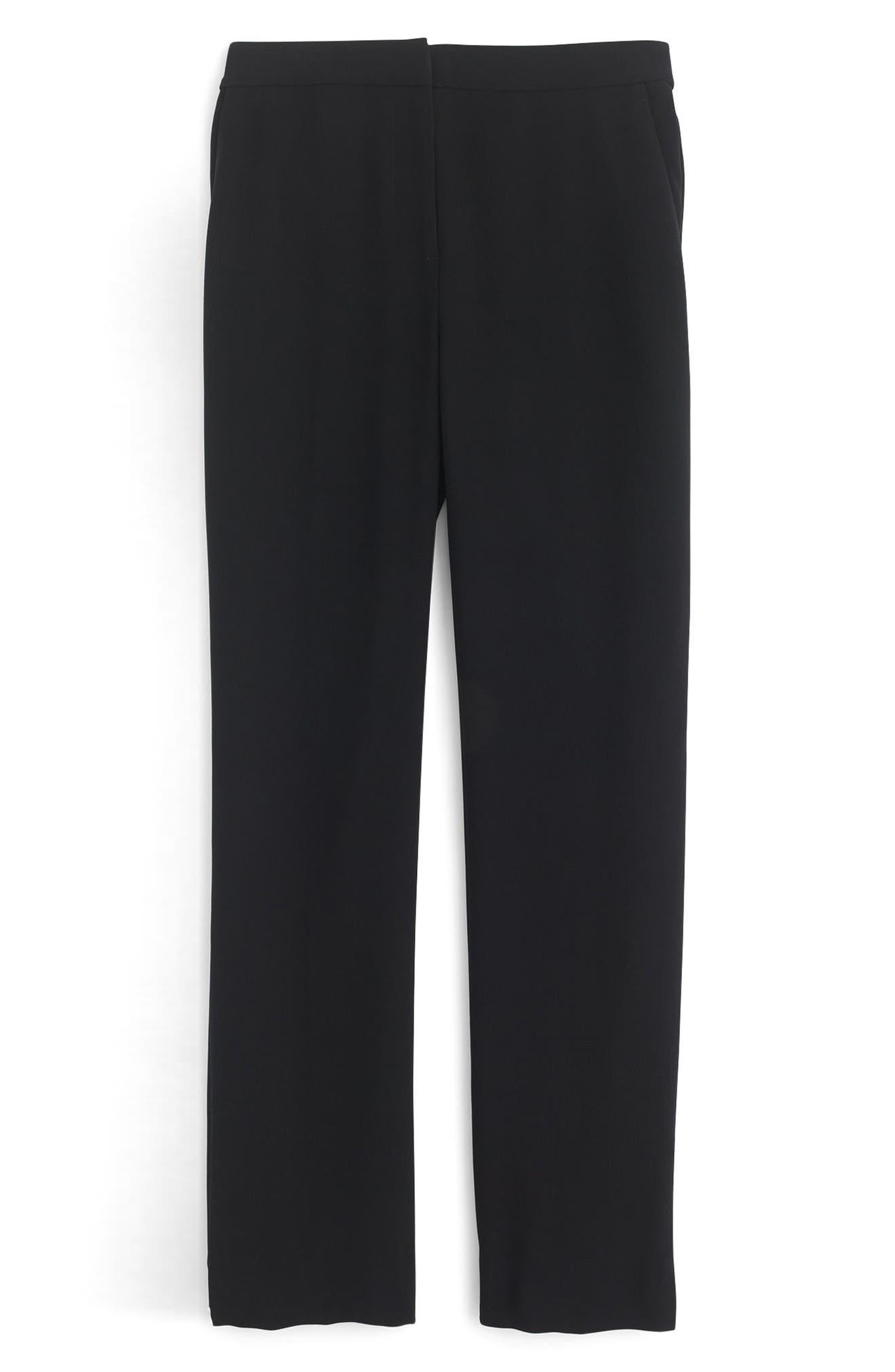Alternate Image 3  - J.Crew New Easy Matte Crepe Pants (Regular & Petite)