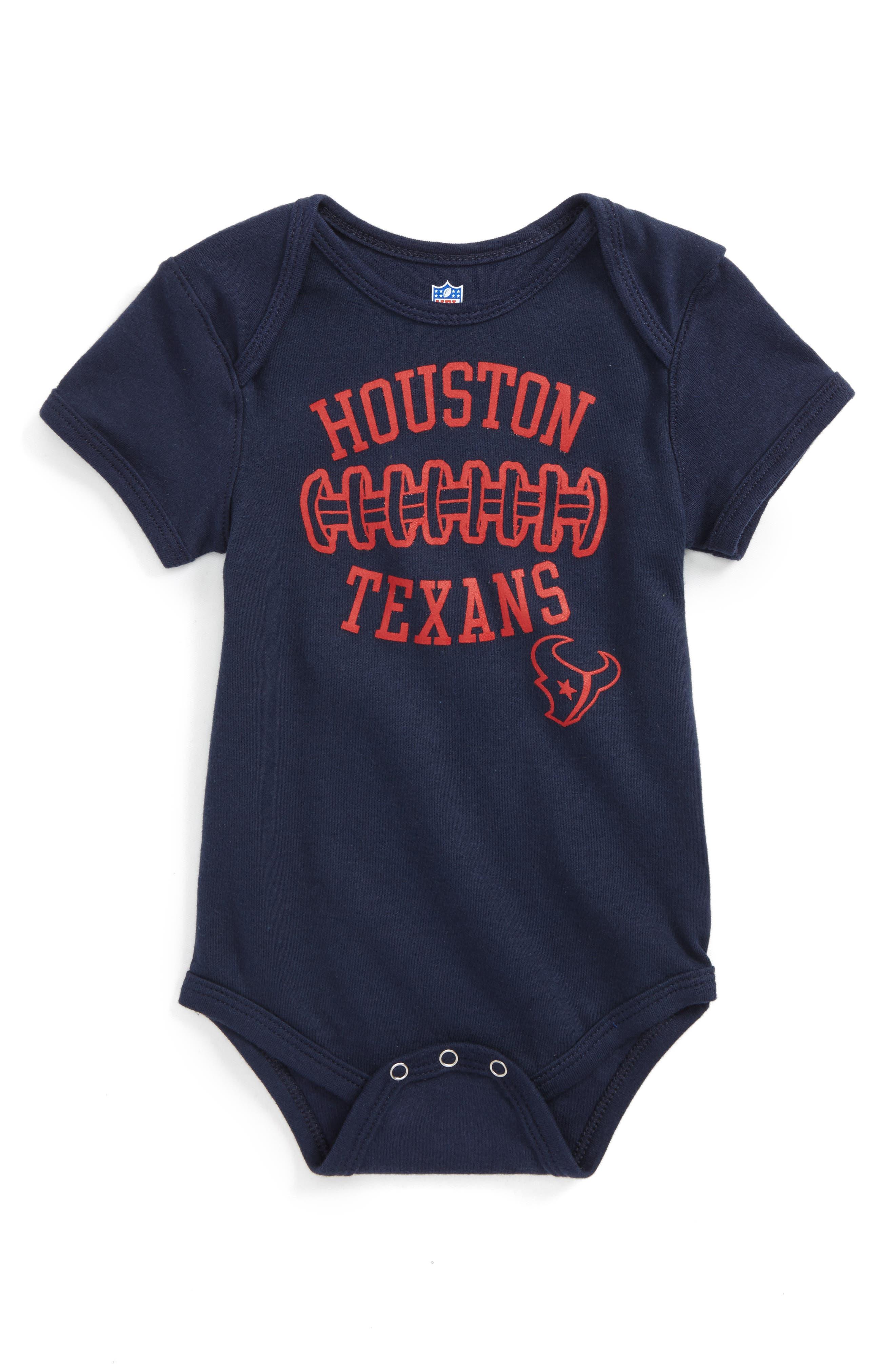 NFL Logo Houston Texans Fan-Atic Football Bodysuit (Baby)