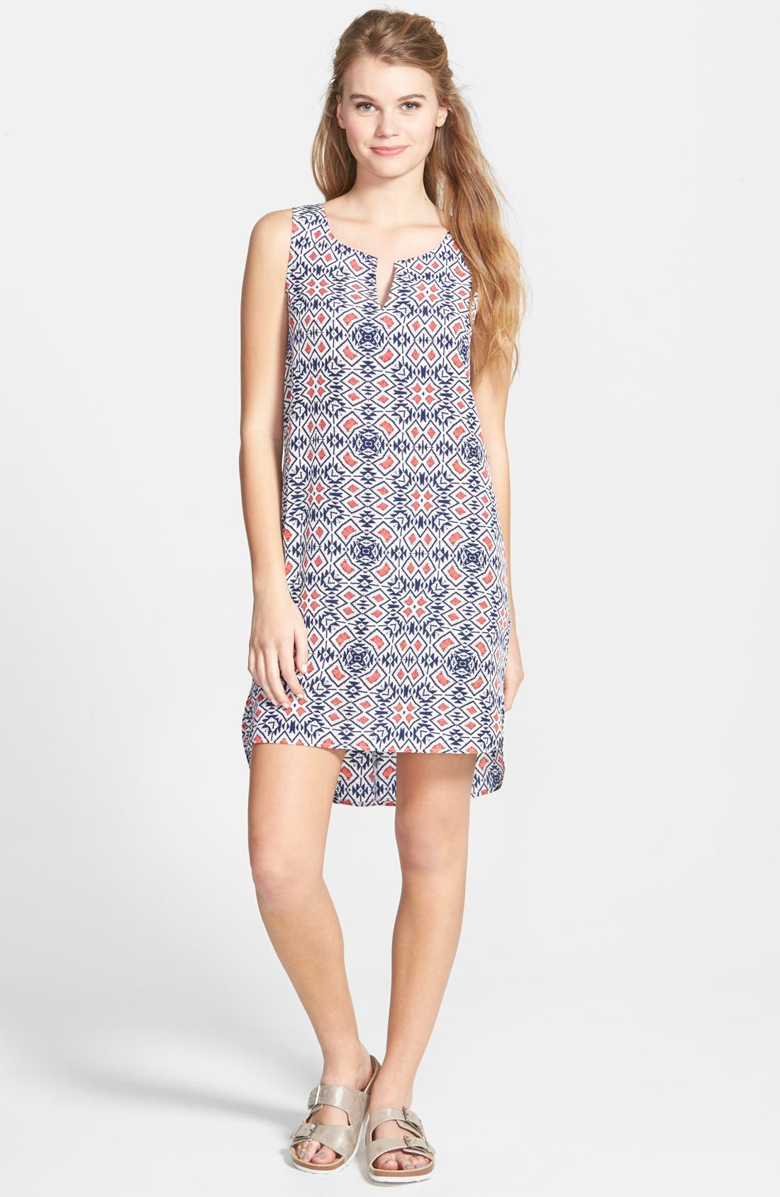 Alternate Image 1 Selected - Socialite Print Shift Dress