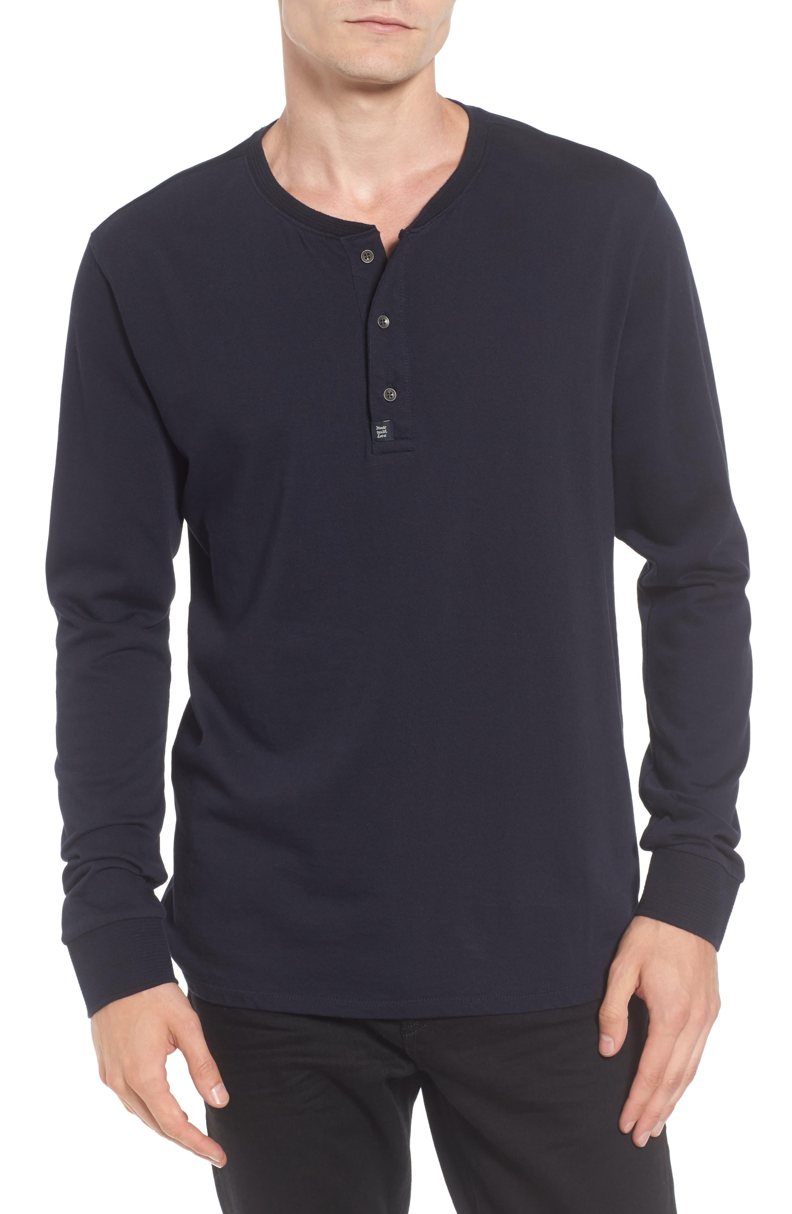 Main Image - Scotch & Soda Grandad Henley T-Shirt
