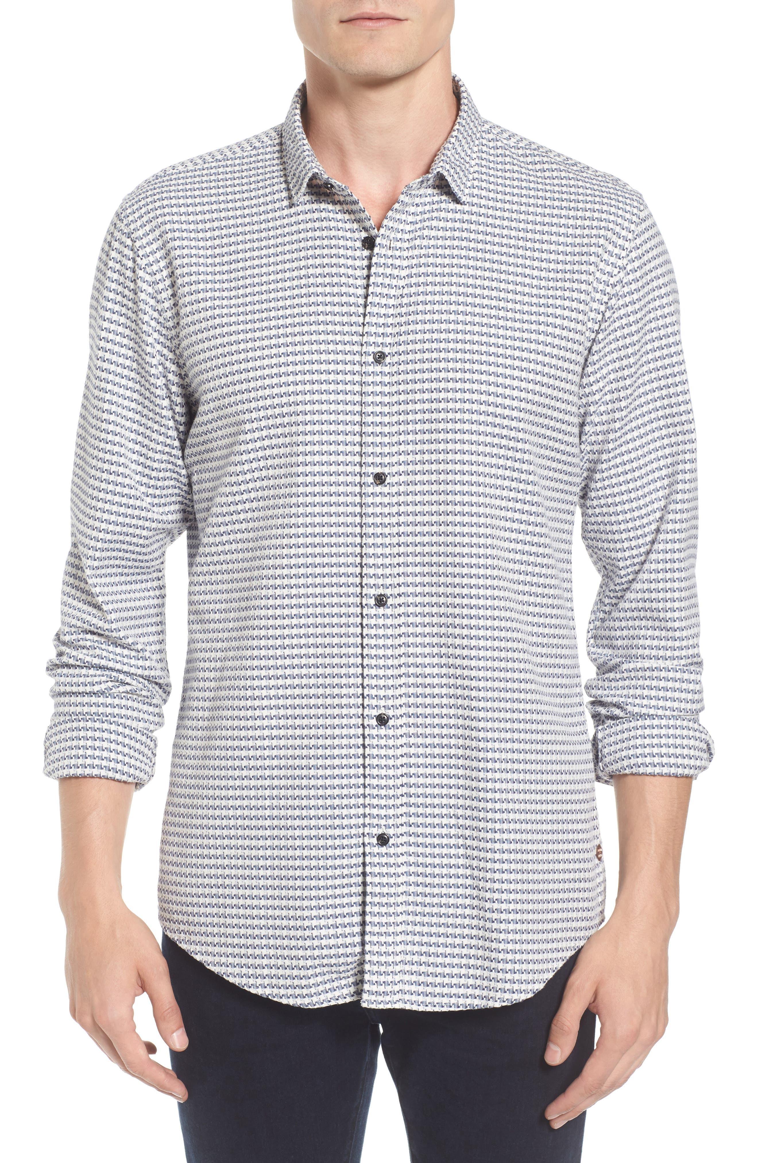 Scotch & Soda Textured Woven Shirt