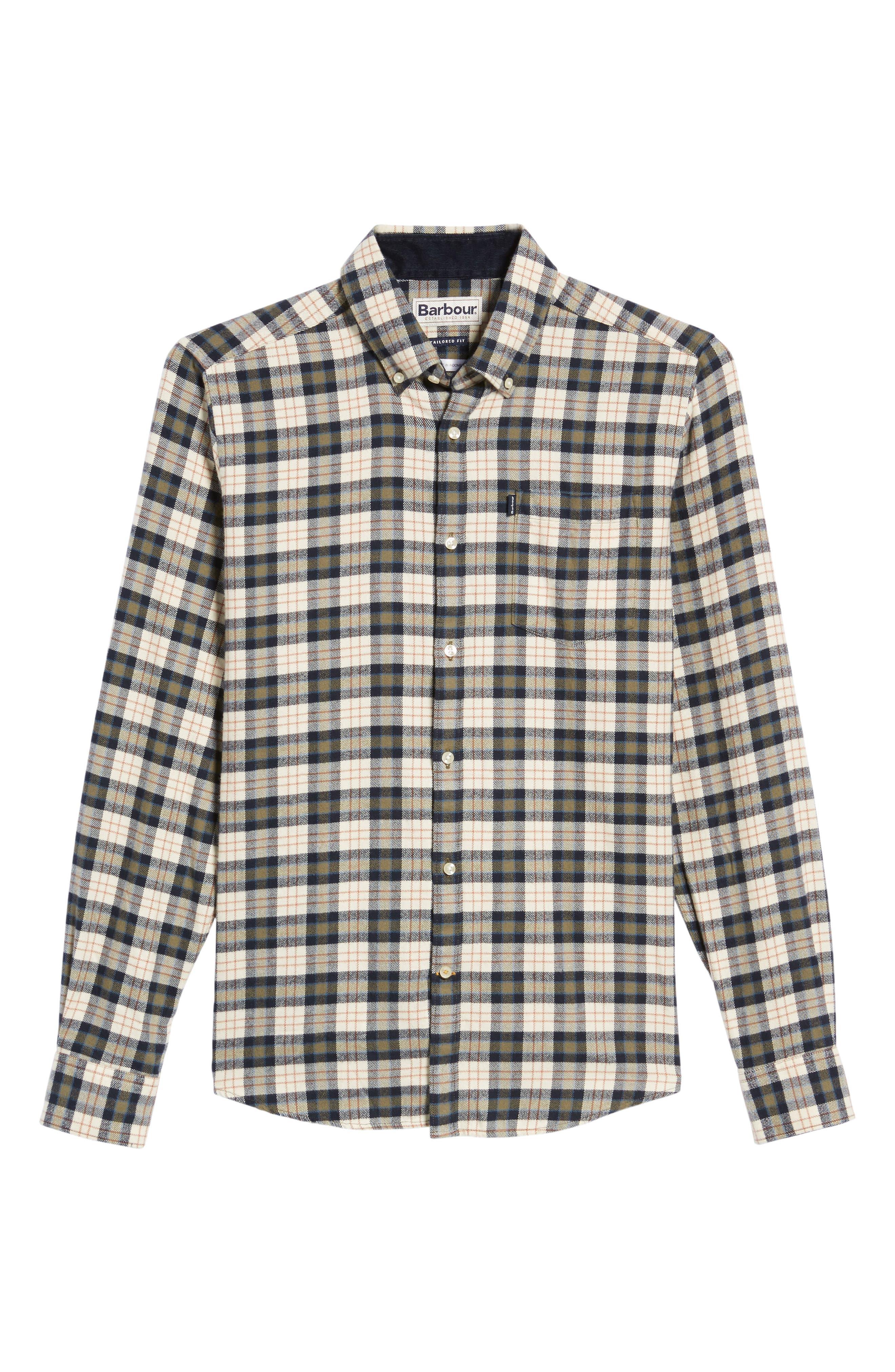 Alternate Image 6  - Barbour Blake Plaid Sport Shirt