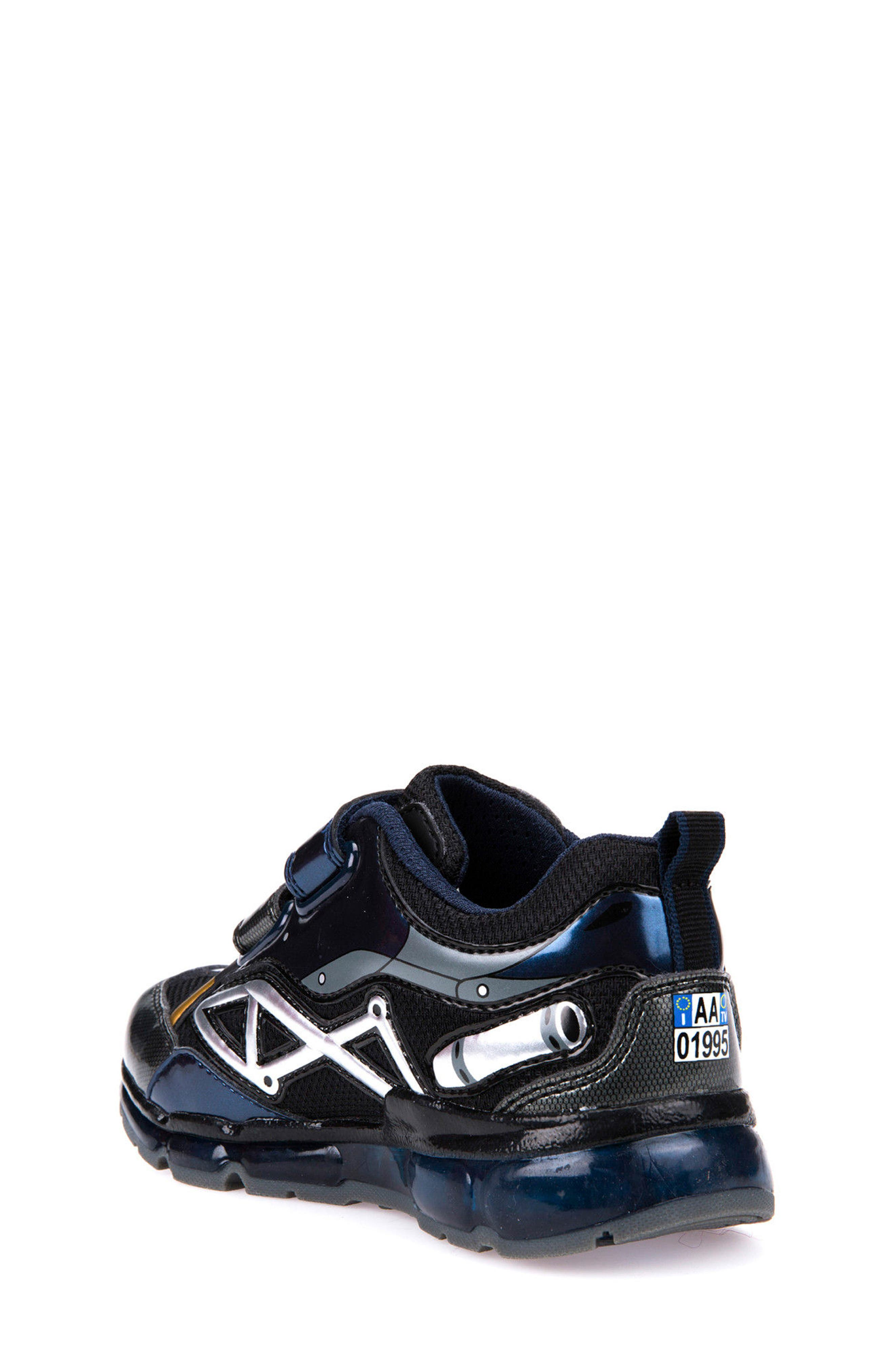 Alternate Image 2  - Geox Android Light-Up Sneaker (Toddler, Little Kid & Big Kid)