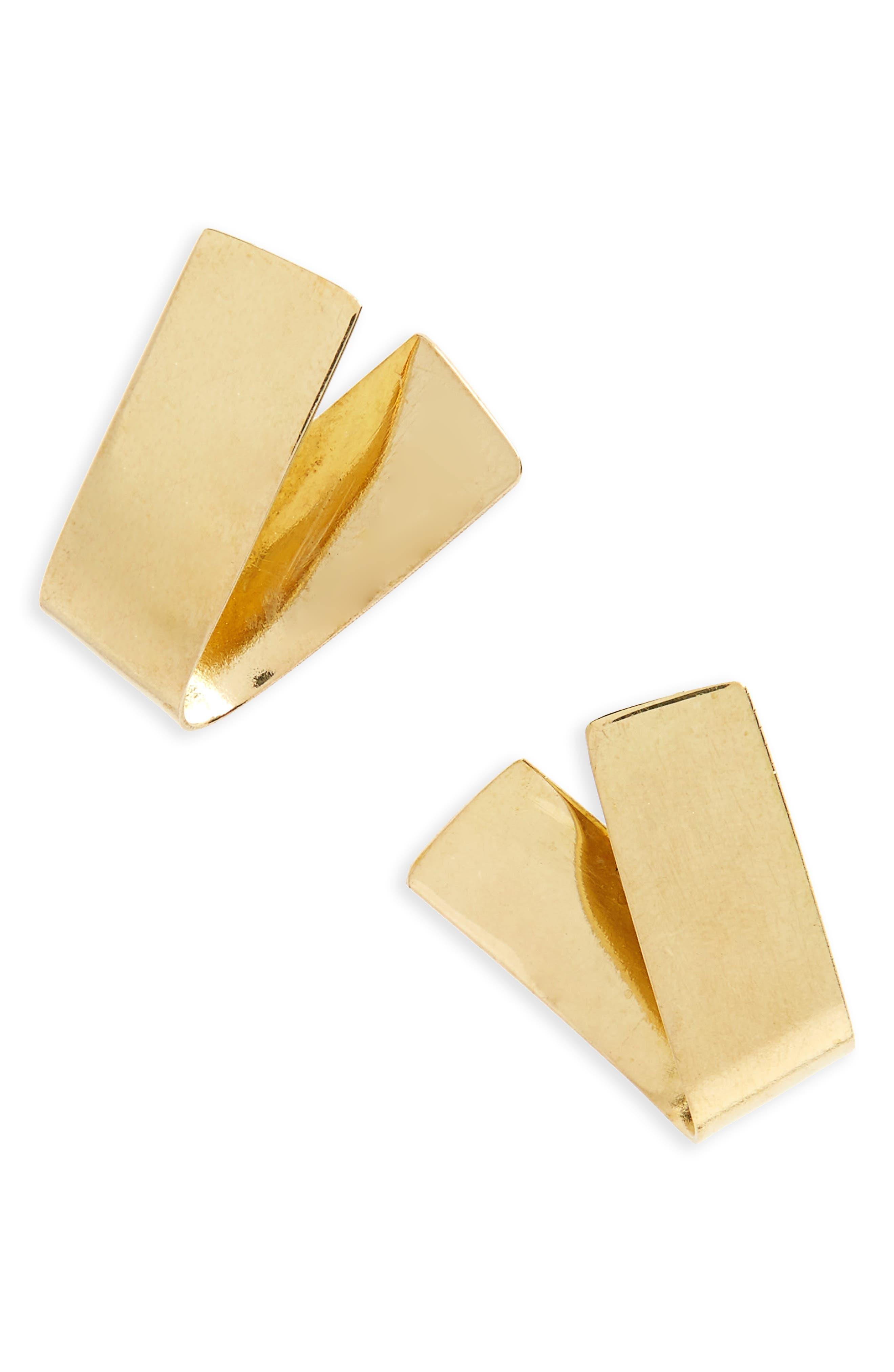Soko Ribbon Stud Earrings