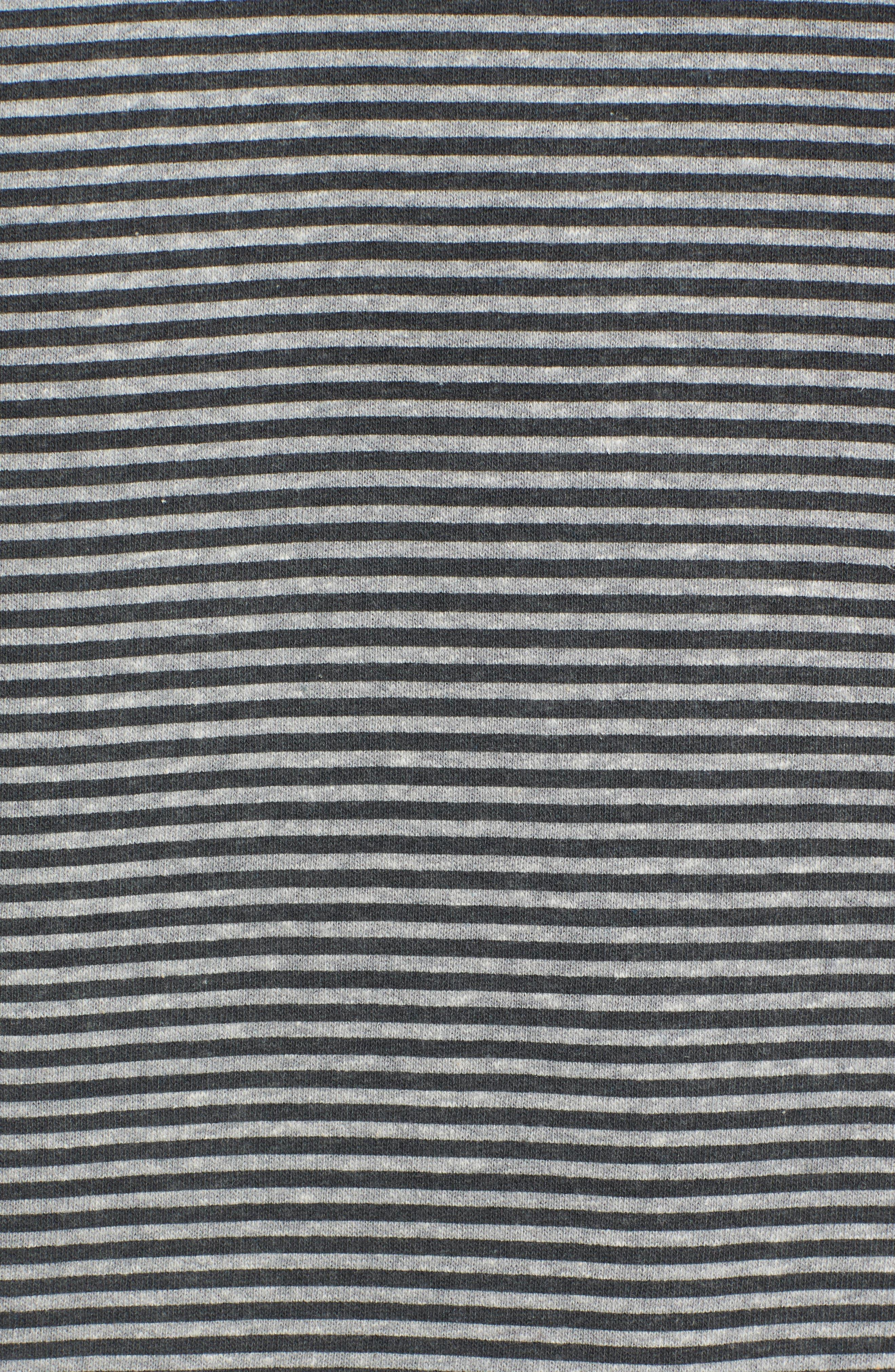 Bayside Pullover Hoodie,                             Alternate thumbnail 5, color,                             Black
