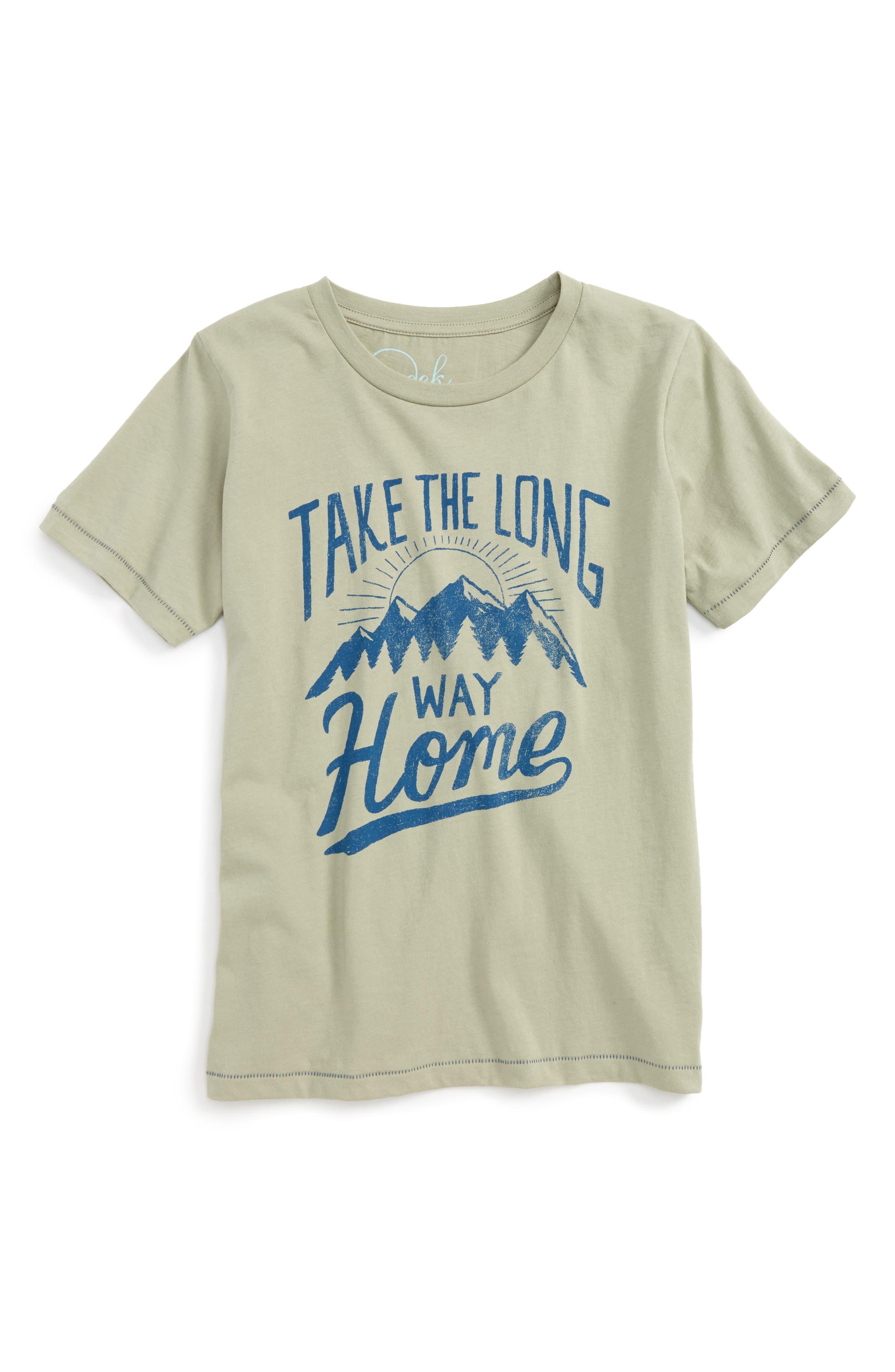 Main Image - Peek Long Way Home T-Shirt (Toddler Boys, Little Boys & Big Boys)