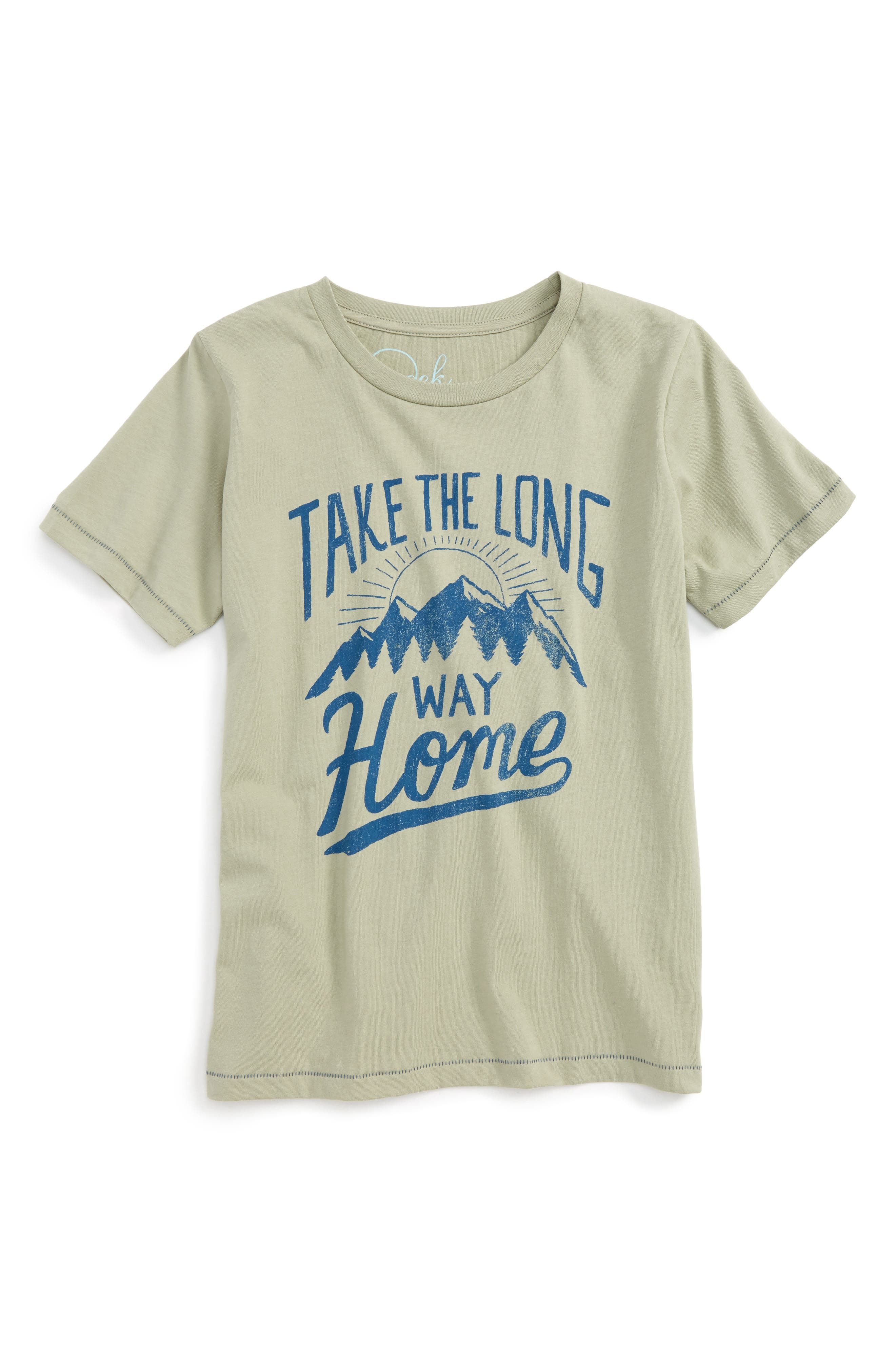 Peek Long Way Home T-Shirt (Toddler Boys, Little Boys & Big Boys)