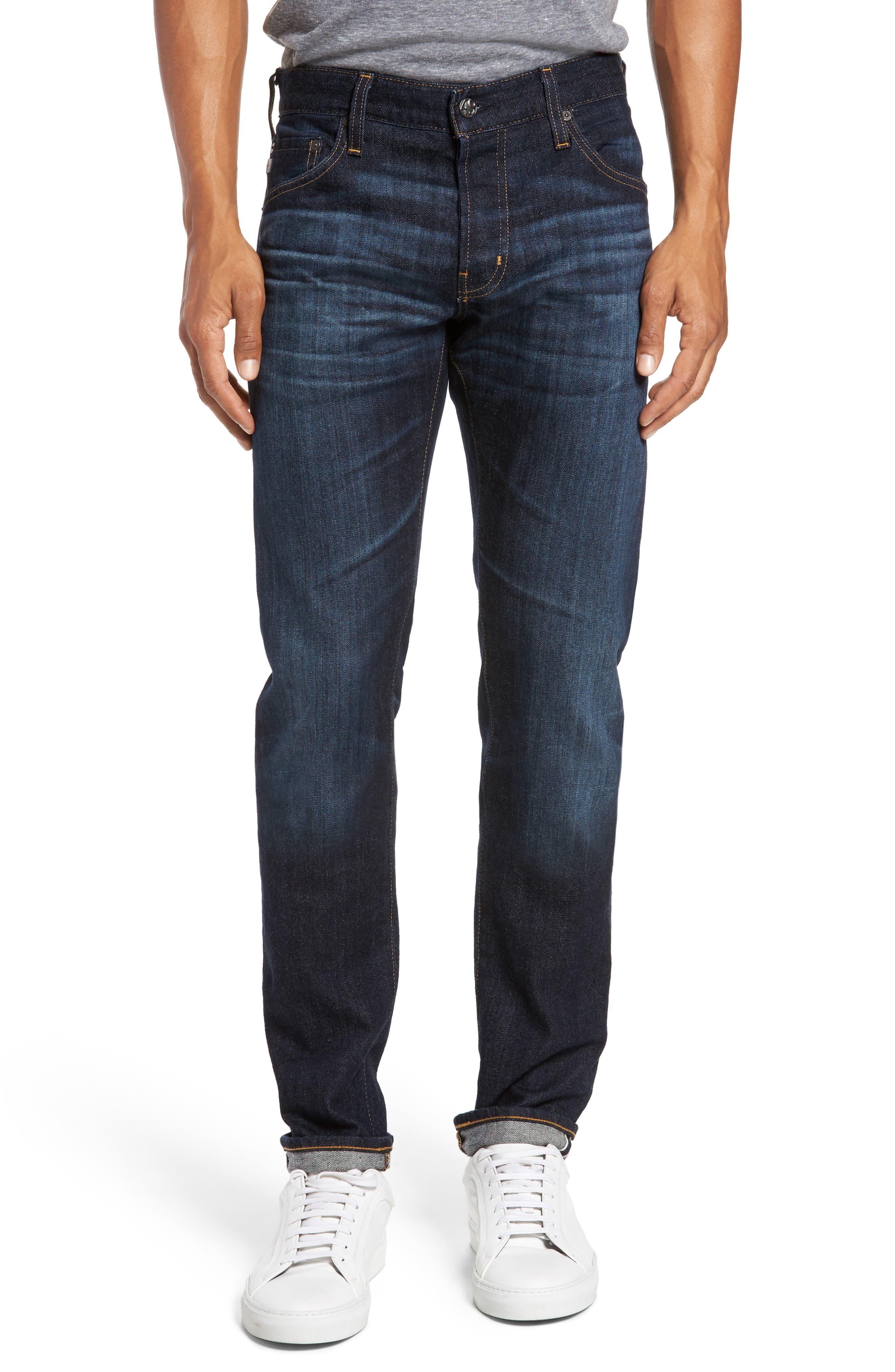 Main Image - AG Tellis Slim Fit Jeans (2 Years Jinx)